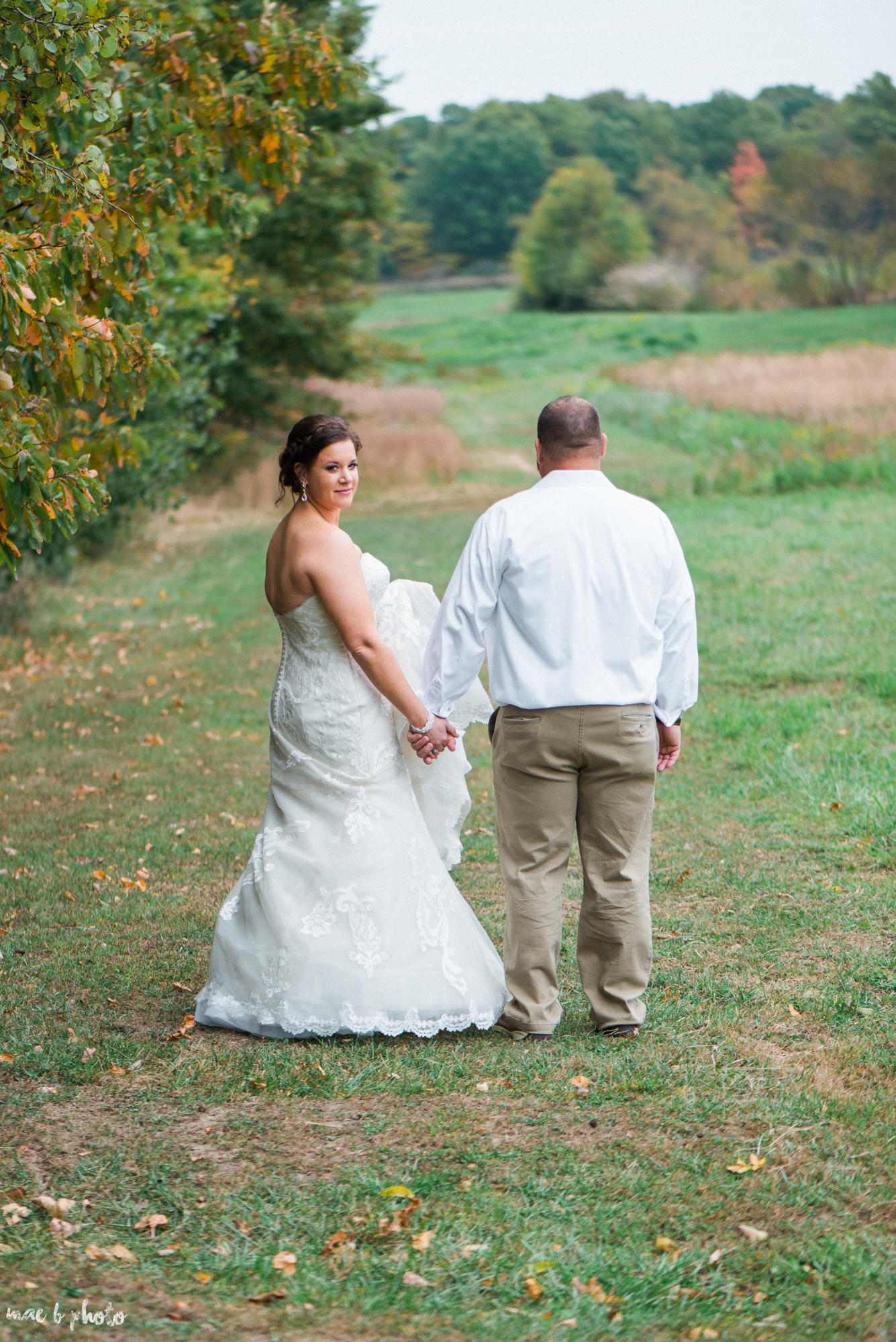 Sarah & Dustin's Rustic Chic Barn Wedding at Hartford Hill Winery in Hartford, Ohio by Mae B Photo-72.jpg