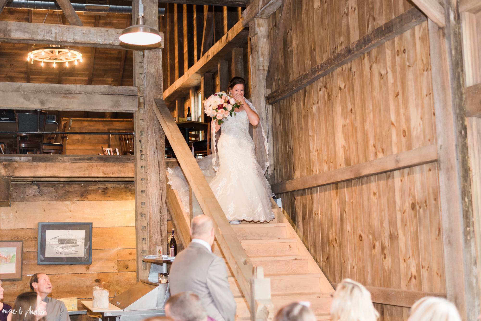 Sarah & Dustin's Rustic Chic Barn Wedding at Hartford Hill Winery in Hartford, Ohio by Mae B Photo-41.jpg