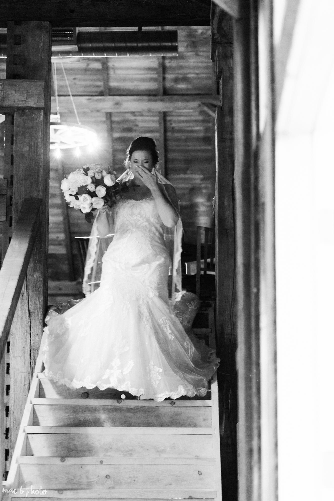 Sarah & Dustin's Rustic Chic Barn Wedding at Hartford Hill Winery in Hartford, Ohio by Mae B Photo-42.jpg