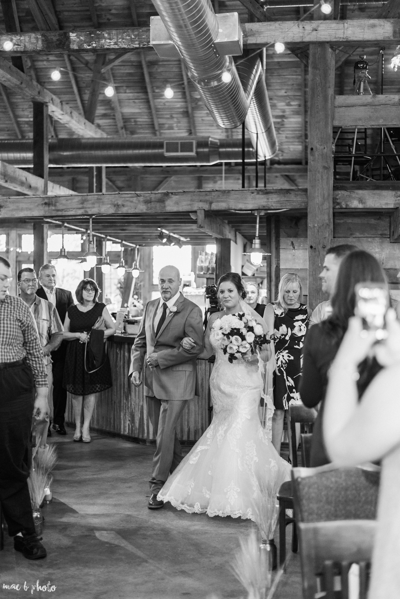 Sarah & Dustin's Rustic Chic Barn Wedding at Hartford Hill Winery in Hartford, Ohio by Mae B Photo-43.jpg