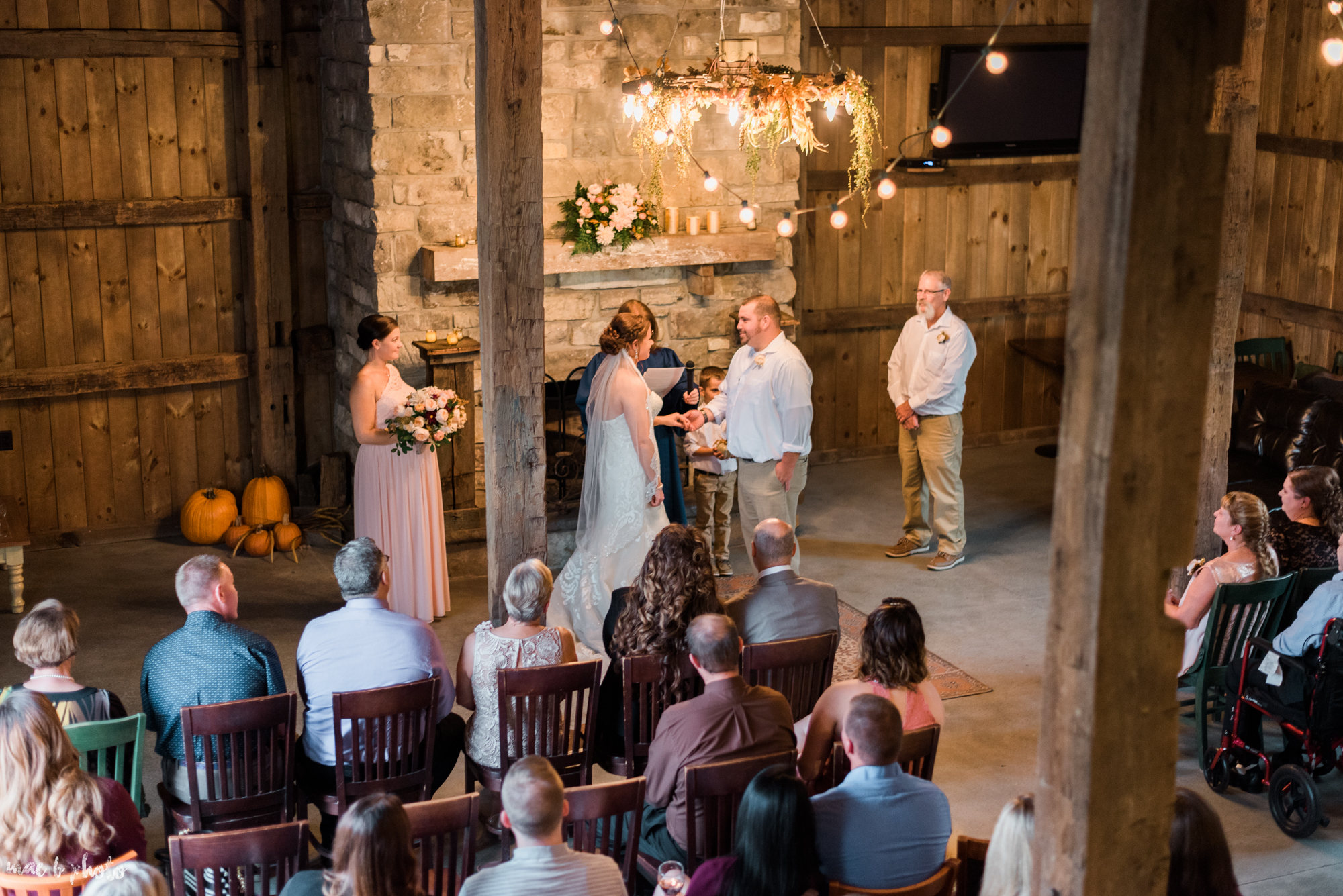 Sarah & Dustin's Rustic Chic Barn Wedding at Hartford Hill Winery in Hartford, Ohio by Mae B Photo-45.jpg
