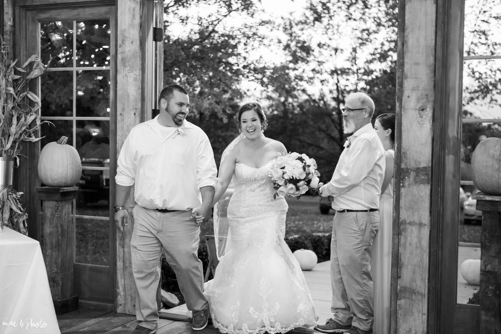 Sarah & Dustin's Rustic Chic Barn Wedding at Hartford Hill Winery in Hartford, Ohio by Mae B Photo-105.jpg