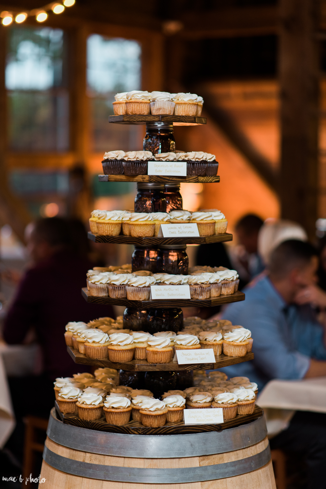 Sarah & Dustin's Rustic Chic Barn Wedding at Hartford Hill Winery in Hartford, Ohio by Mae B Photo-108.jpg