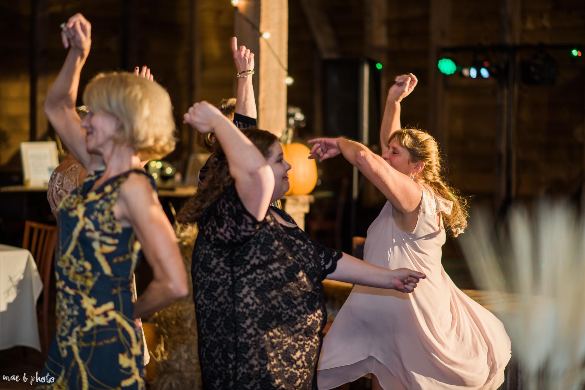 Sarah & Dustin's Rustic Chic Barn Wedding at Hartford Hill Winery in Hartford, Ohio by Mae B Photo-116.jpg