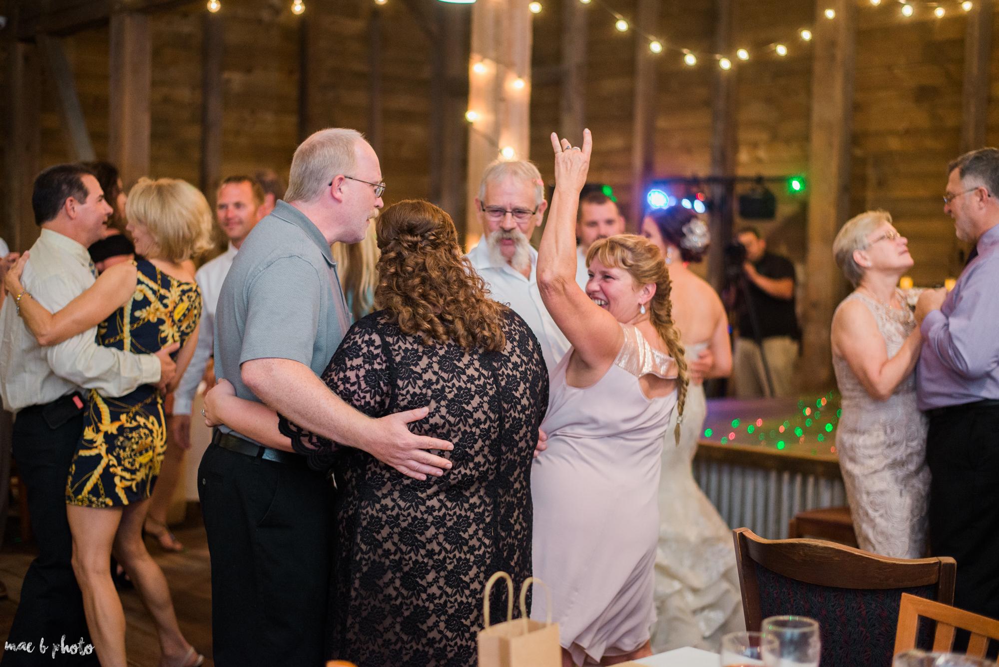 Sarah & Dustin's Rustic Chic Barn Wedding at Hartford Hill Winery in Hartford, Ohio by Mae B Photo-113.jpg