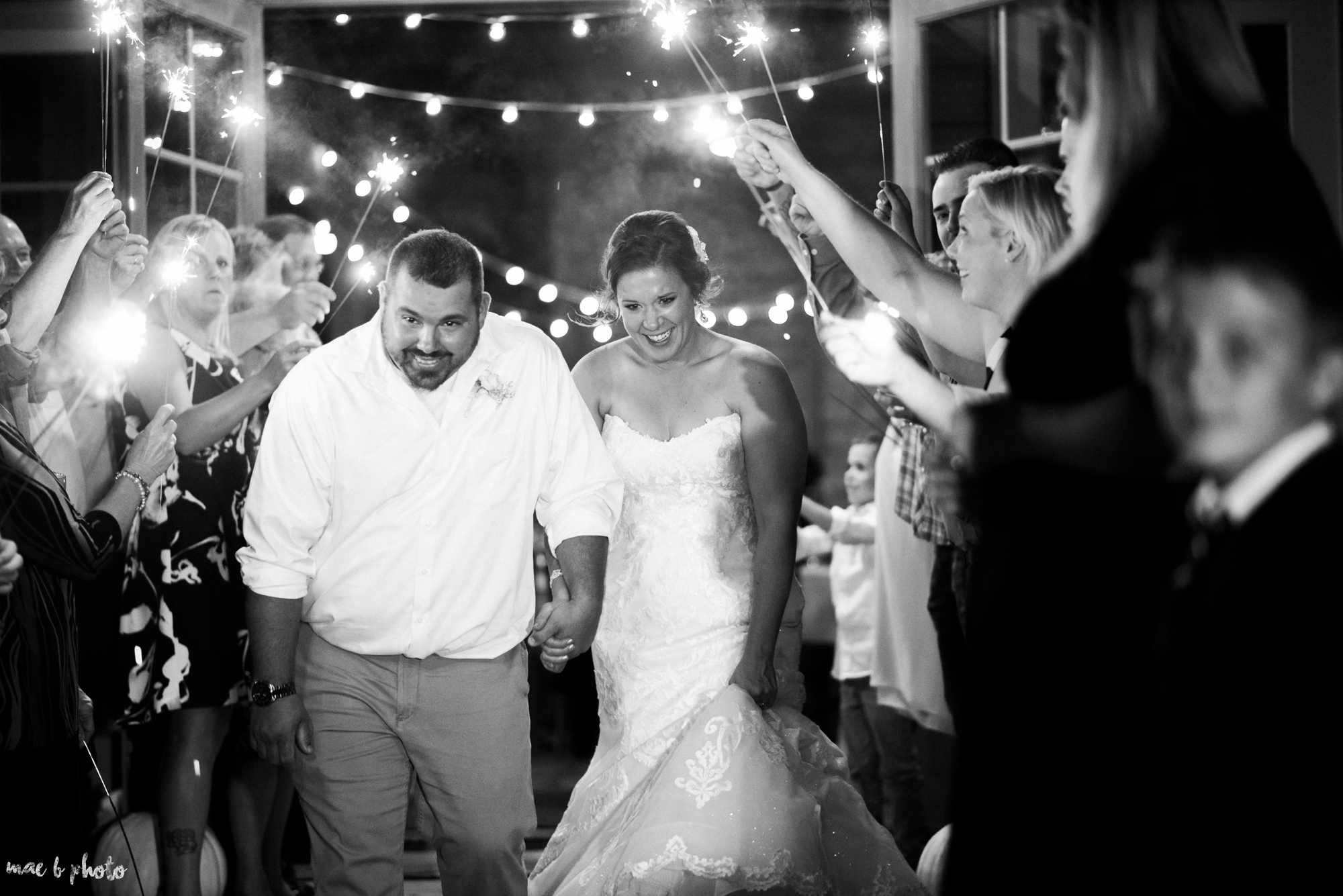 Sarah & Dustin's Rustic Chic Barn Wedding at Hartford Hill Winery in Hartford, Ohio by Mae B Photo-109.jpg