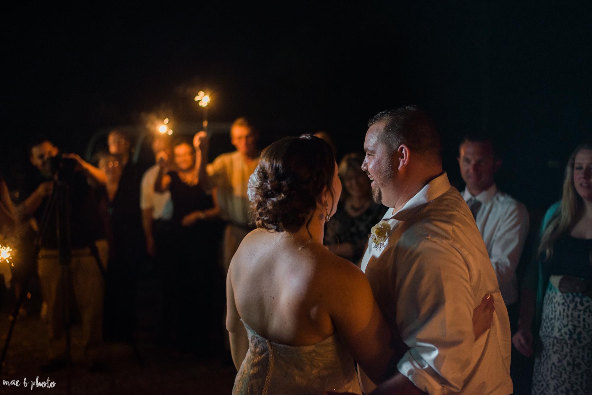 Sarah & Dustin's Rustic Chic Barn Wedding at Hartford Hill Winery in Hartford, Ohio by Mae B Photo-111.jpg