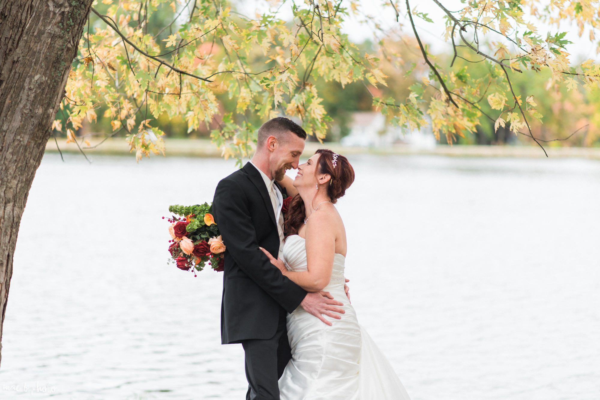 tracey and aaron's personal fall wedding at tiffany's banquet center in brookfield ohio-78.jpg