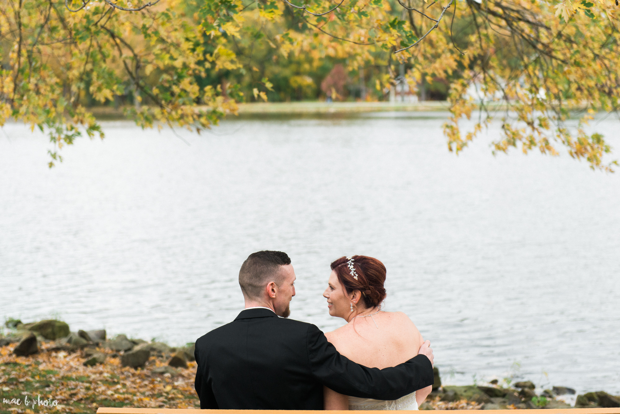 tracey and aaron's personal fall wedding at tiffany's banquet center in brookfield ohio-69.jpg