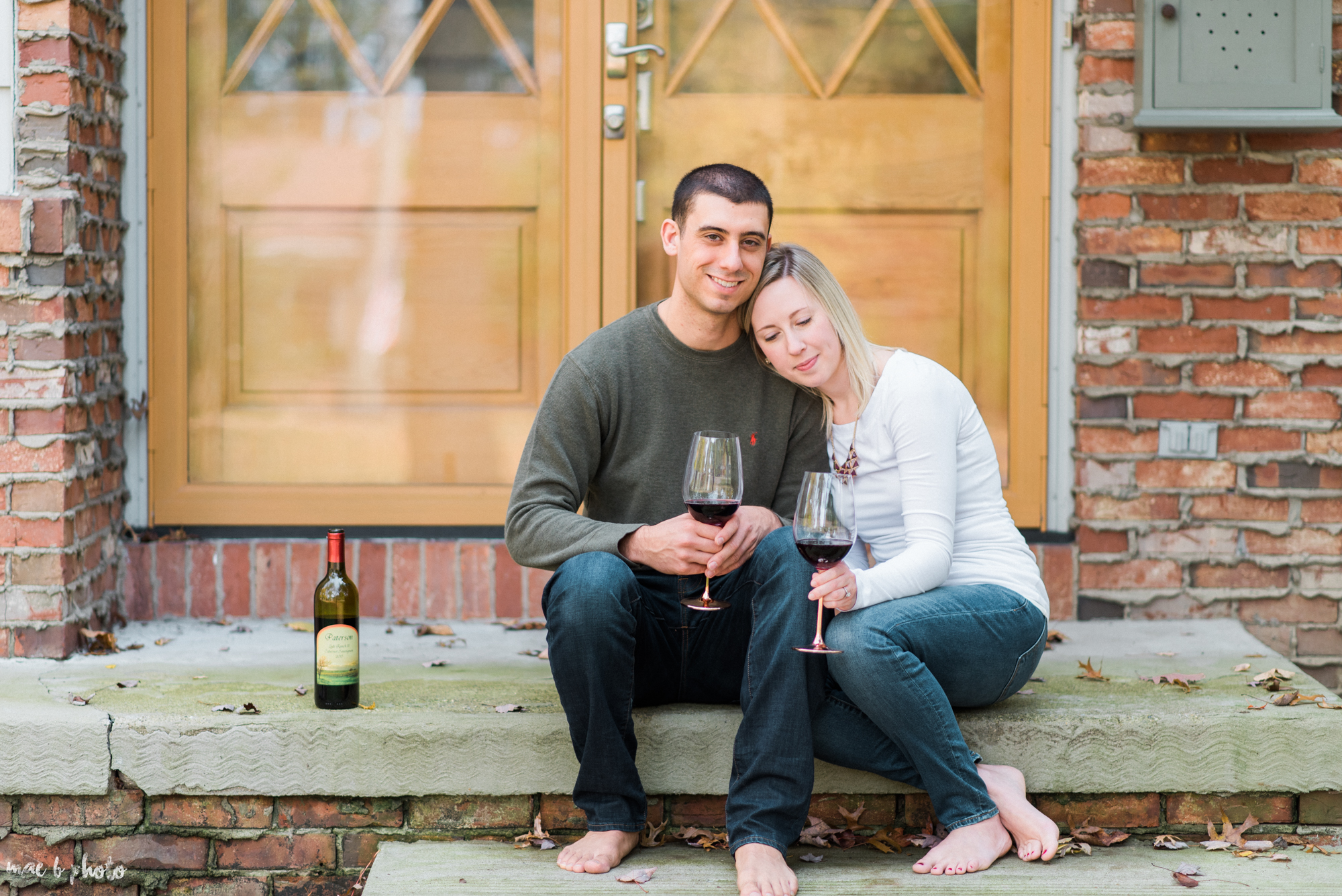 Emily & Michael's Lifestyle Engagement Session in Youngstown Ohio by Mae B Photo-35.jpg
