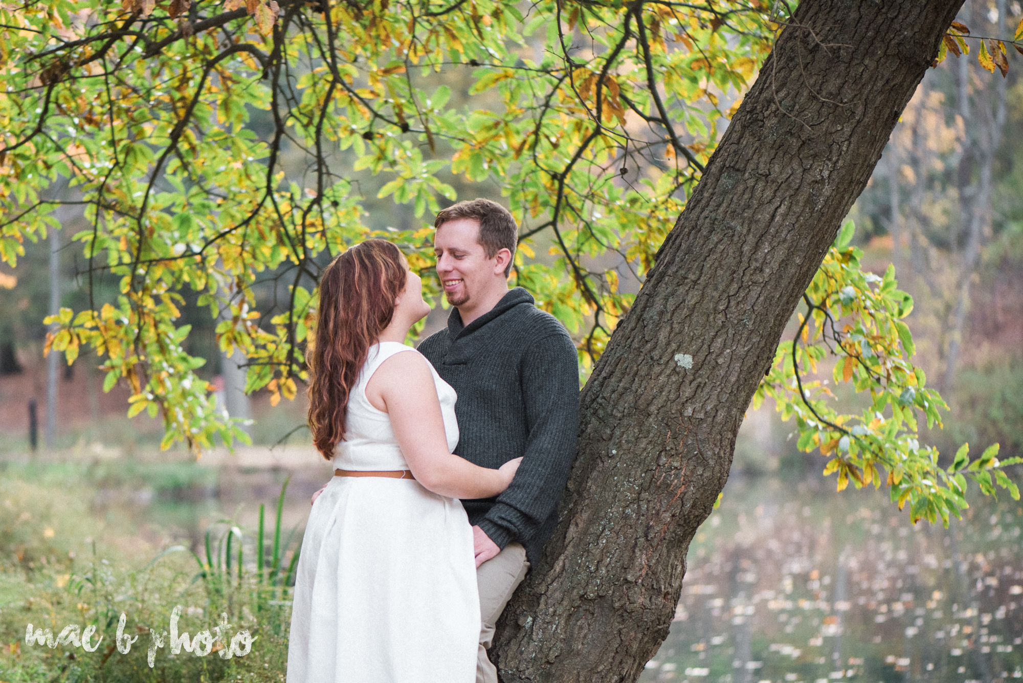 sarah and randy's personal fall engagement session at mill creek park in youngstown ohio-14.jpg