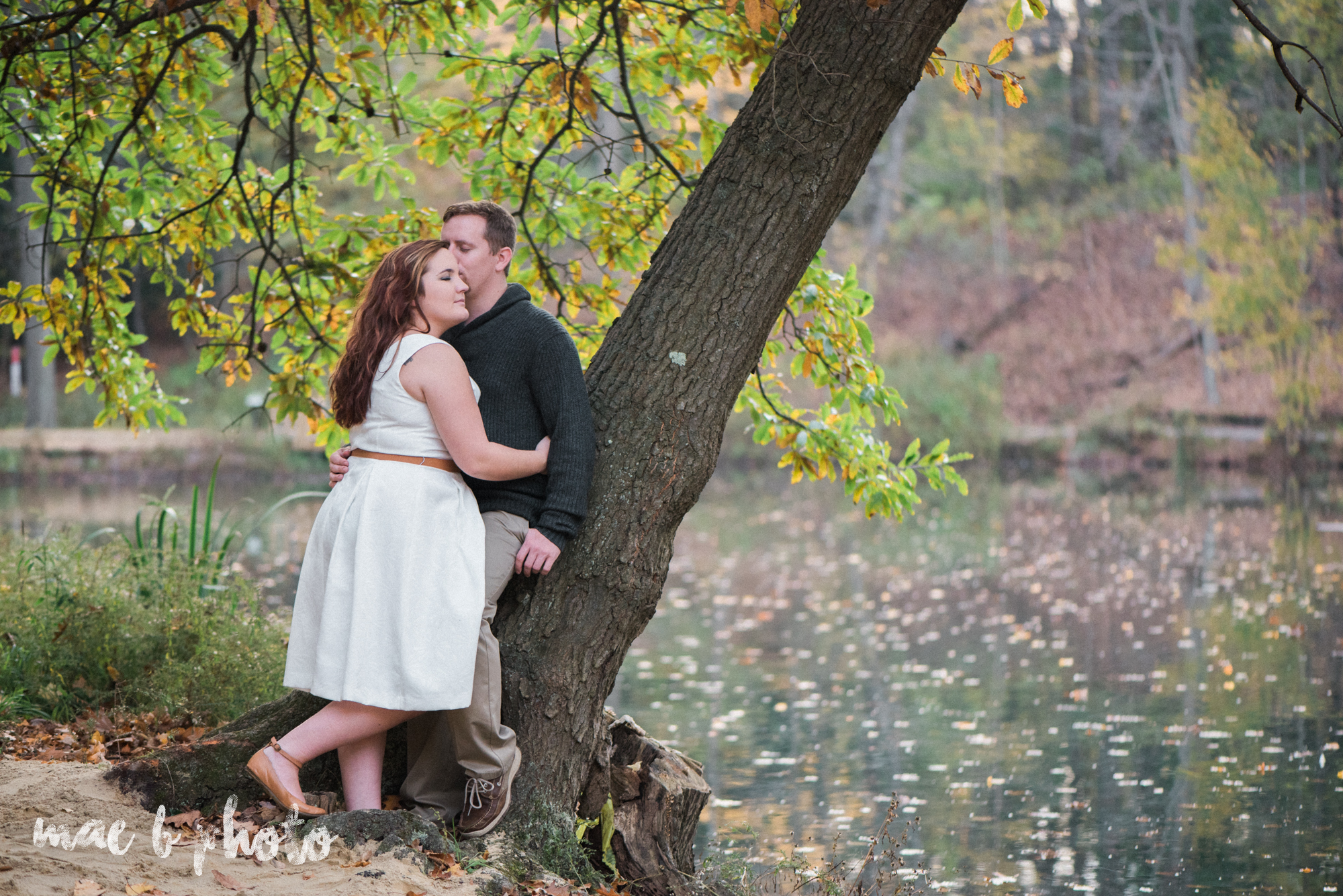 sarah and randy's personal fall engagement session at mill creek park in youngstown ohio-15.jpg
