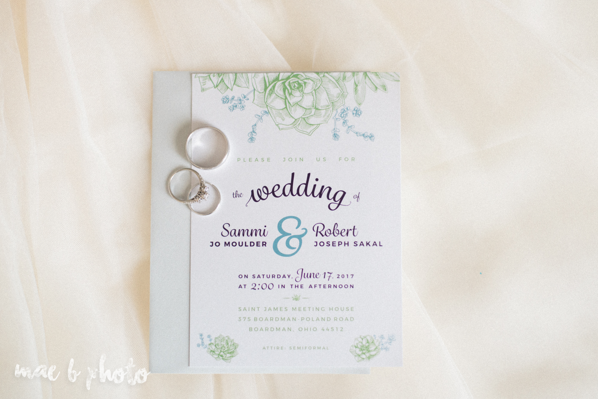 intimate summer wedding at the holiday inn in boardman ohio photographed by cleveland wedding photographer mae b photo-1.jpg
