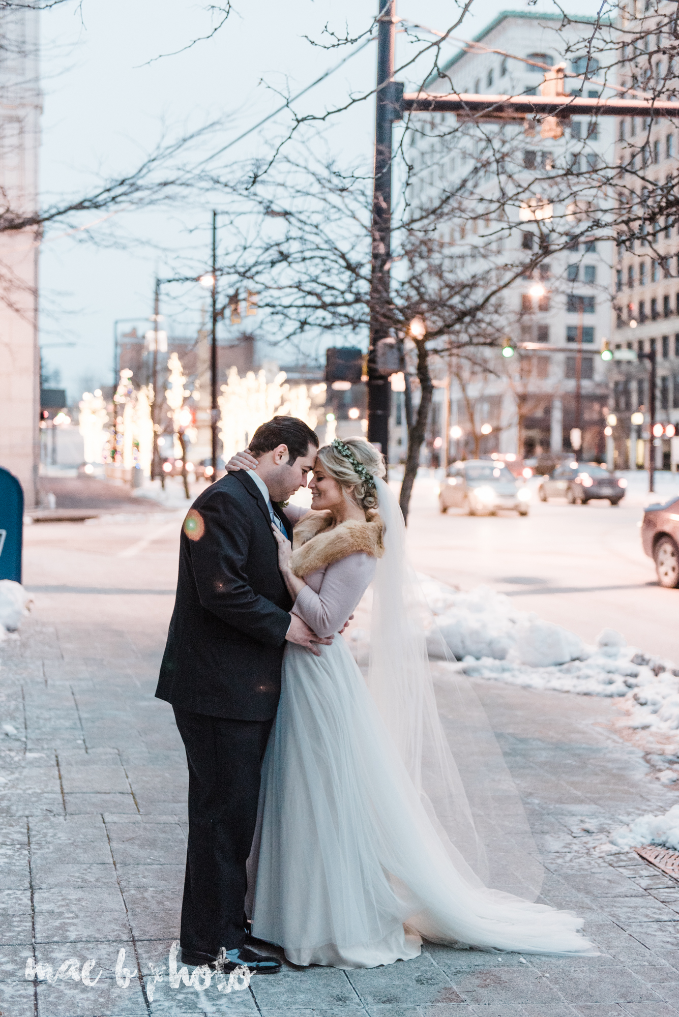personal winter wedding at mt carmel in youngstown ohio photographed by cleveland wedding photographer mae b photo-1.jpg