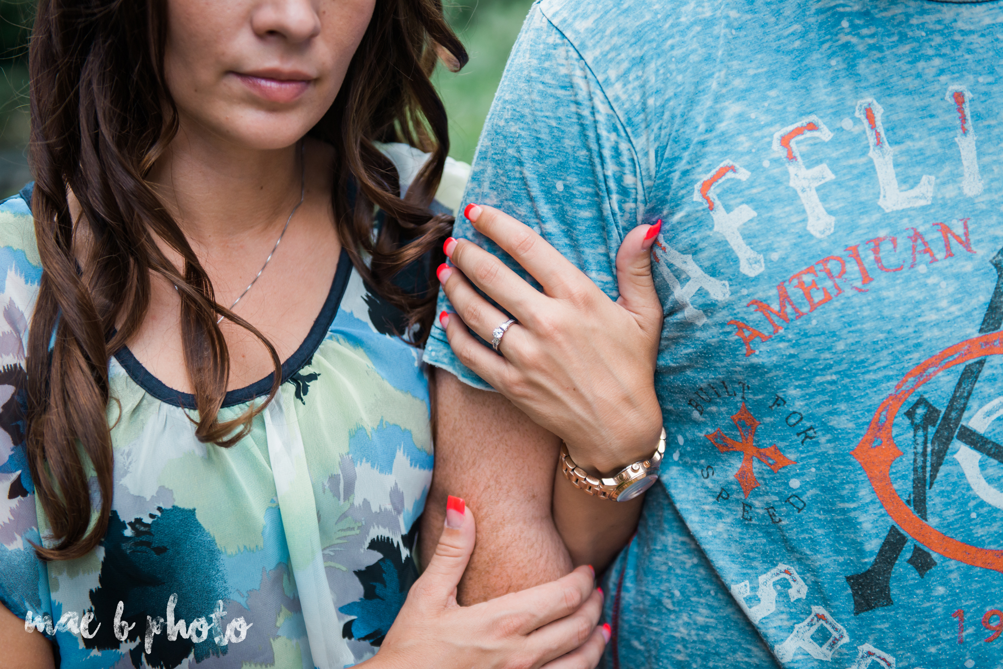 kristy and matt's summer engagement session at mill creek park in youngstown ohio photographed by youngstown wedding photographer mae b photo-4.jpg