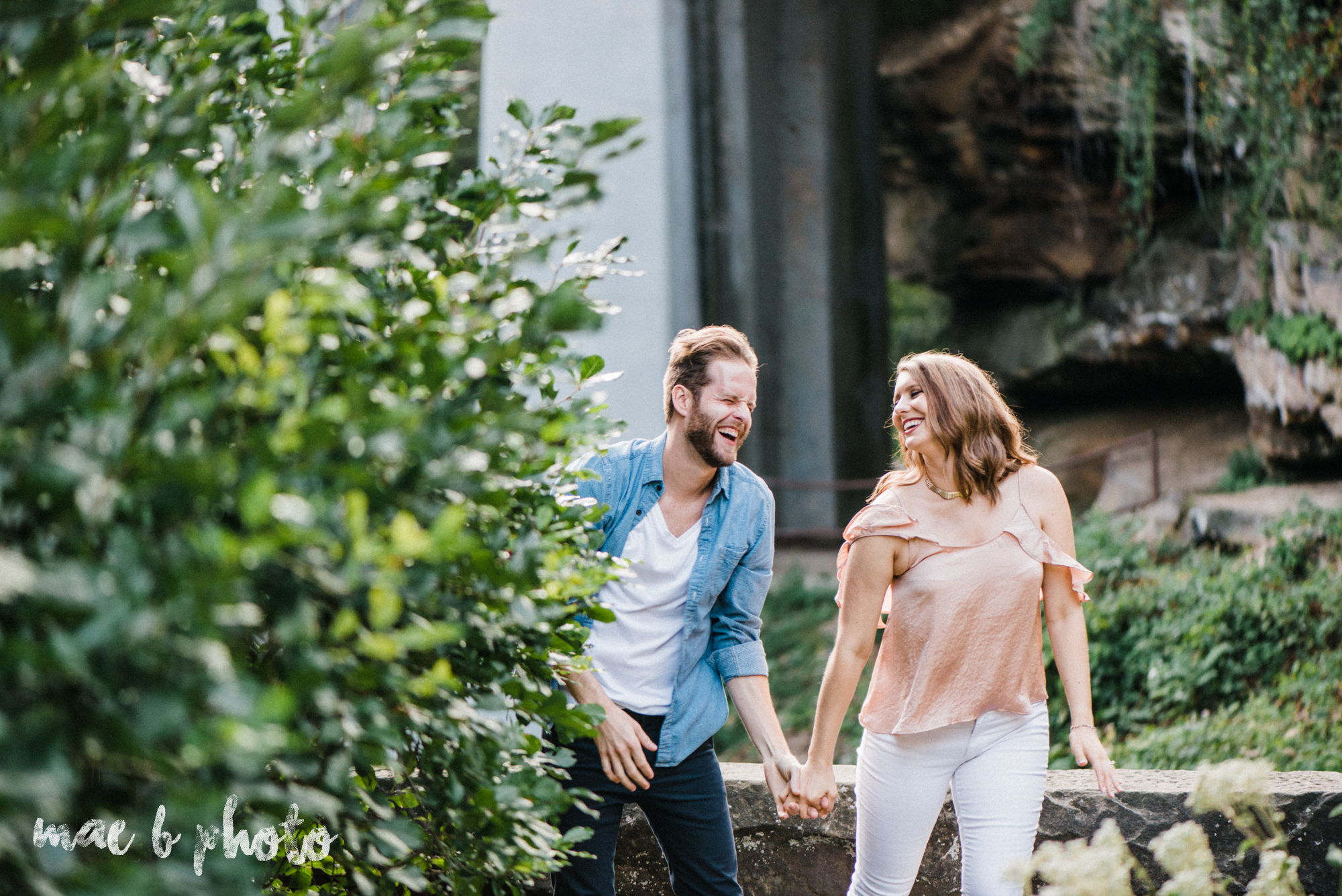 lauren and steve's summer engagement session at the rose gardens and lanterman's mill in mill creek park in youngstown ohio photographed by youngstown wedding photographer mae b photo-33.jpg
