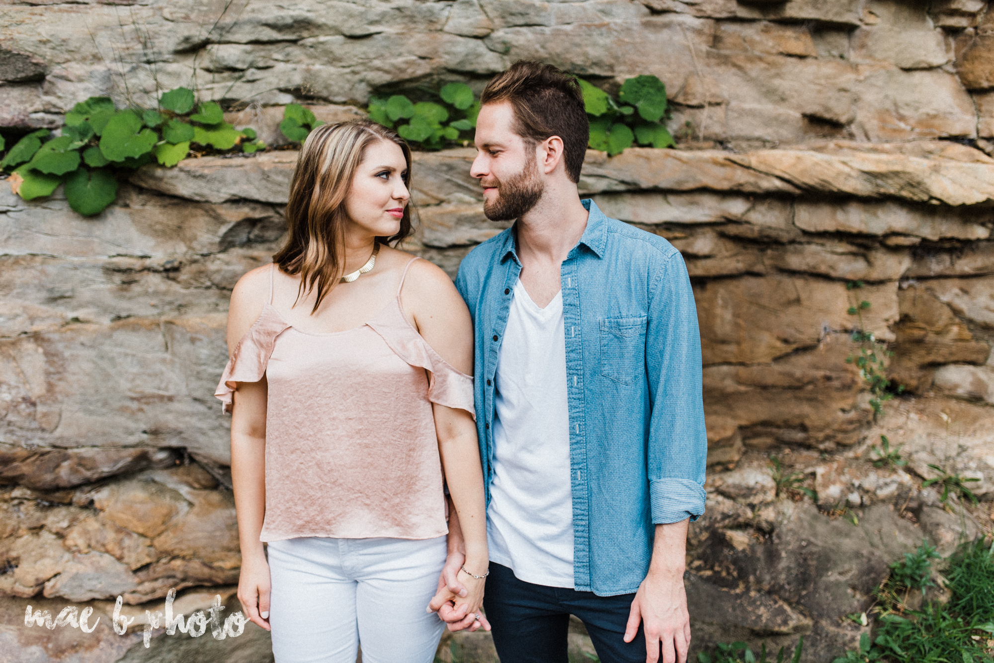 lauren and steve's summer engagement session at the rose gardens and lanterman's mill in mill creek park in youngstown ohio photographed by youngstown wedding photographer mae b photo-37.jpg