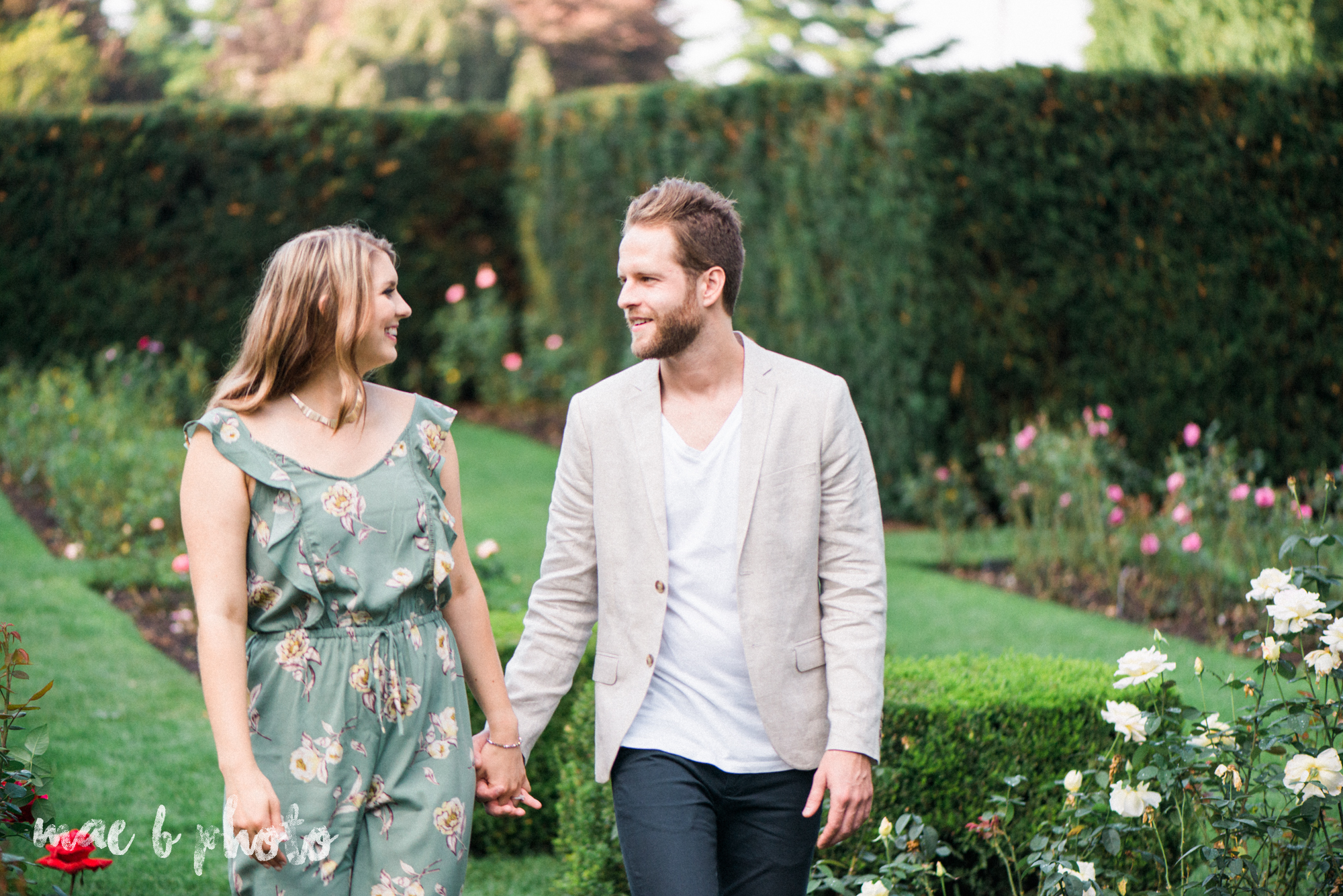 lauren and steve's summer engagement session at the rose gardens and lanterman's mill in mill creek park in youngstown ohio photographed by youngstown wedding photographer mae b photo-10.jpg