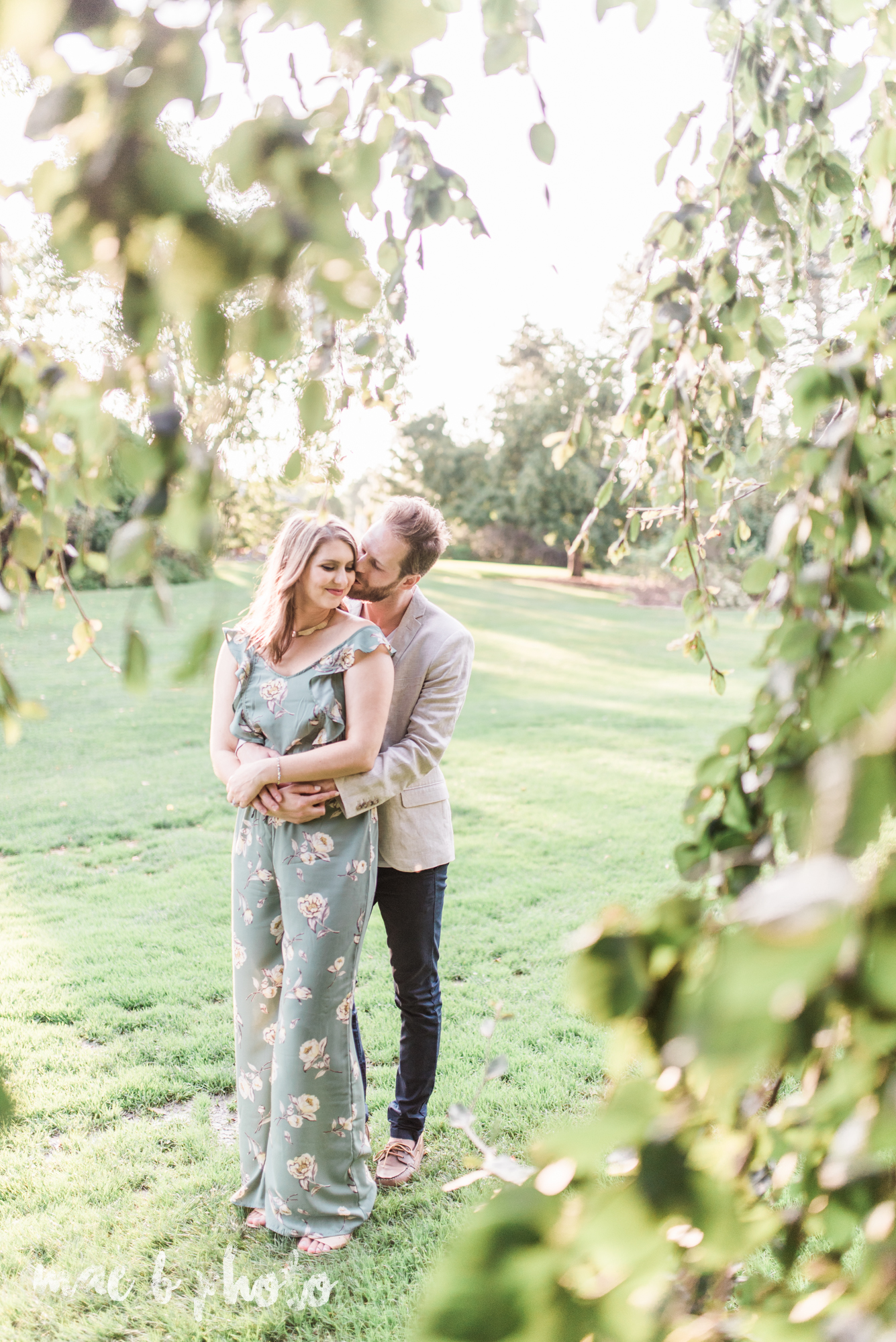 lauren and steve's summer engagement session at the rose gardens and lanterman's mill in mill creek park in youngstown ohio photographed by youngstown wedding photographer mae b photo-23.jpg