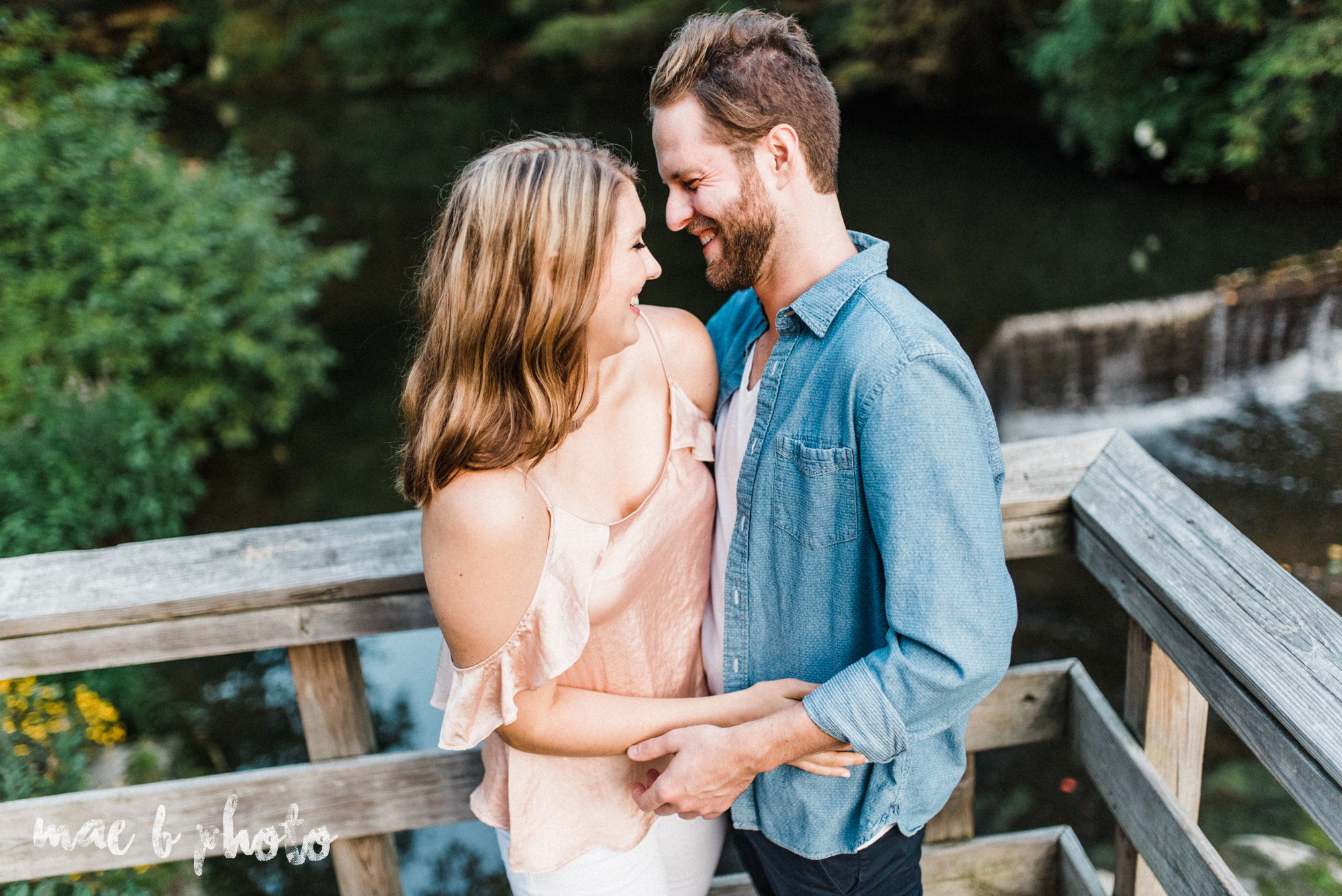 lauren and steve's summer engagement session at the rose gardens and lanterman's mill in mill creek park in youngstown ohio photographed by youngstown wedding photographer mae b photo-46.jpg
