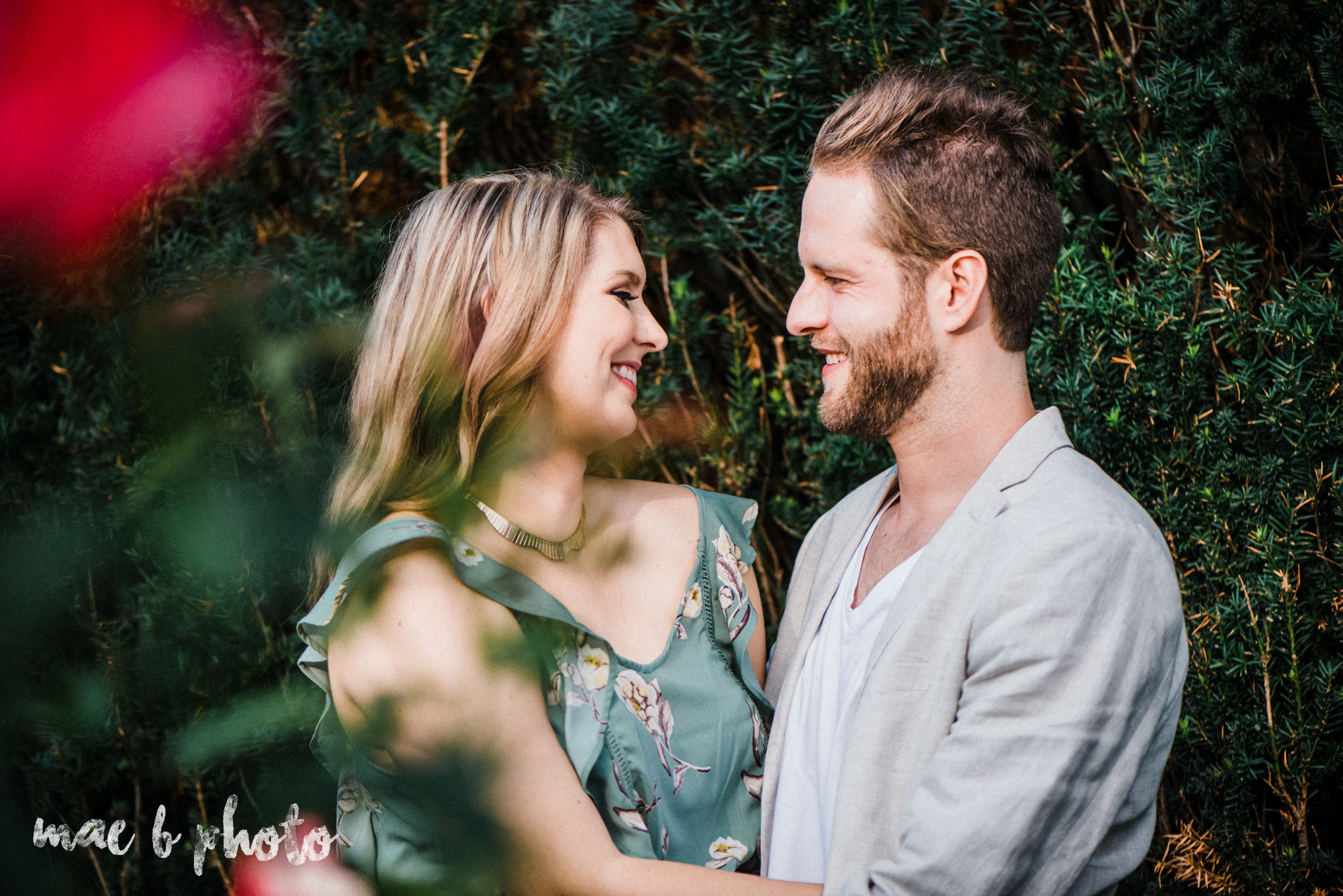 lauren and steve's summer engagement session at the rose gardens and lanterman's mill in mill creek park in youngstown ohio photographed by youngstown wedding photographer mae b photo-7.jpg