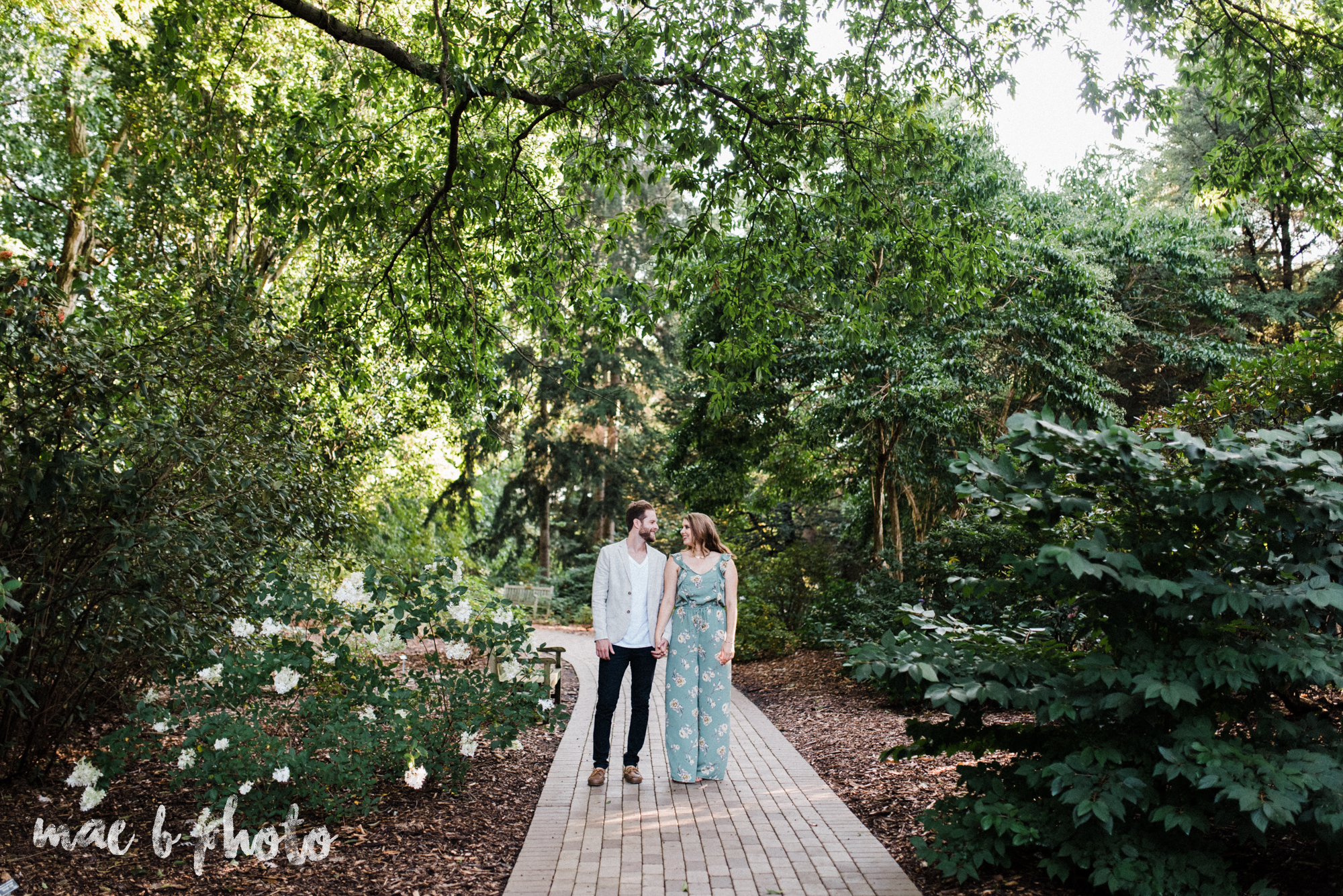 lauren and steve's summer engagement session at the rose gardens and lanterman's mill in mill creek park in youngstown ohio photographed by youngstown wedding photographer mae b photo-12.jpg