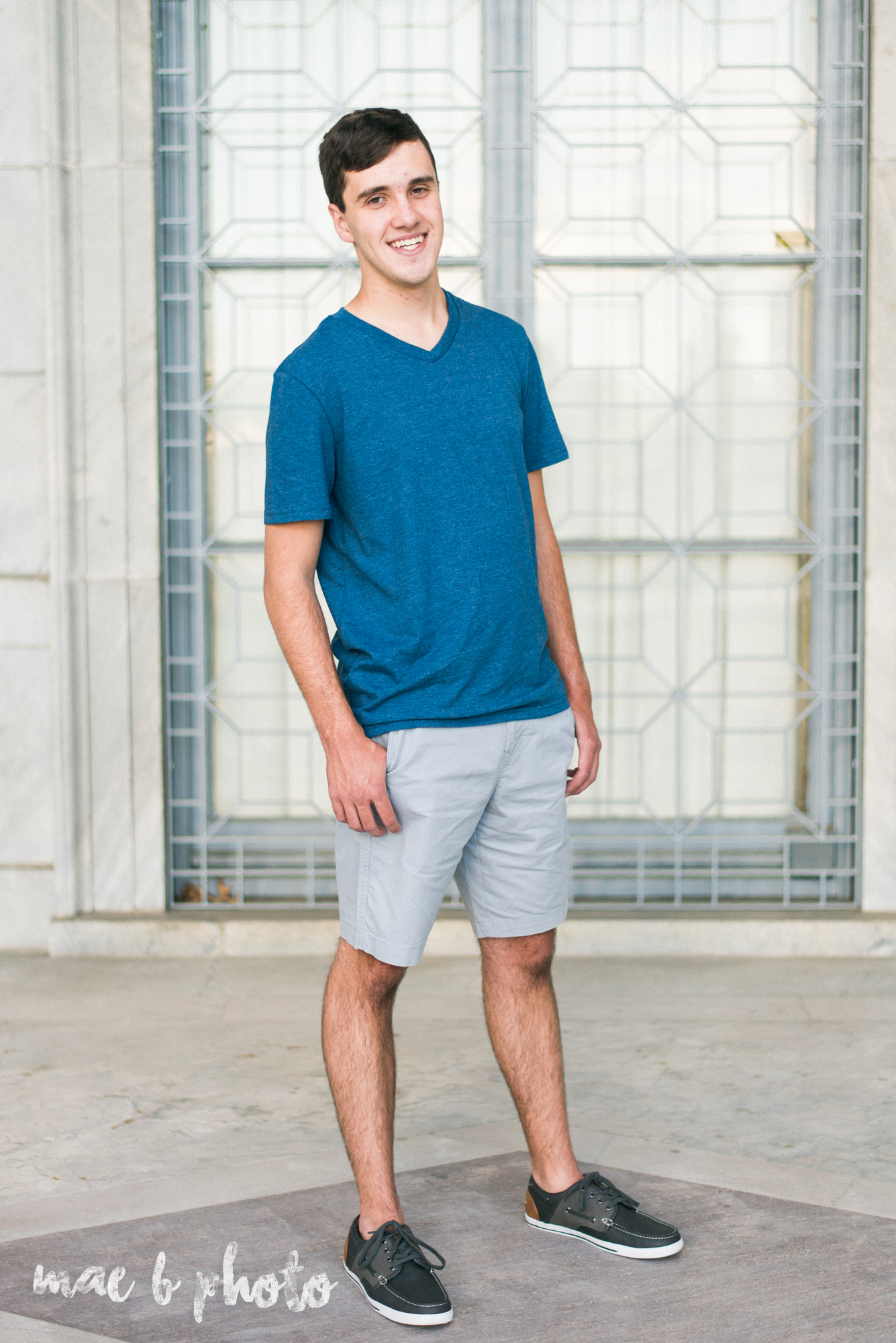 john's summer senior session at youngstown state university and the butler institute of american art in youngstown ohio photographed by youngstown wedding photographer mae b photo-2.jpg