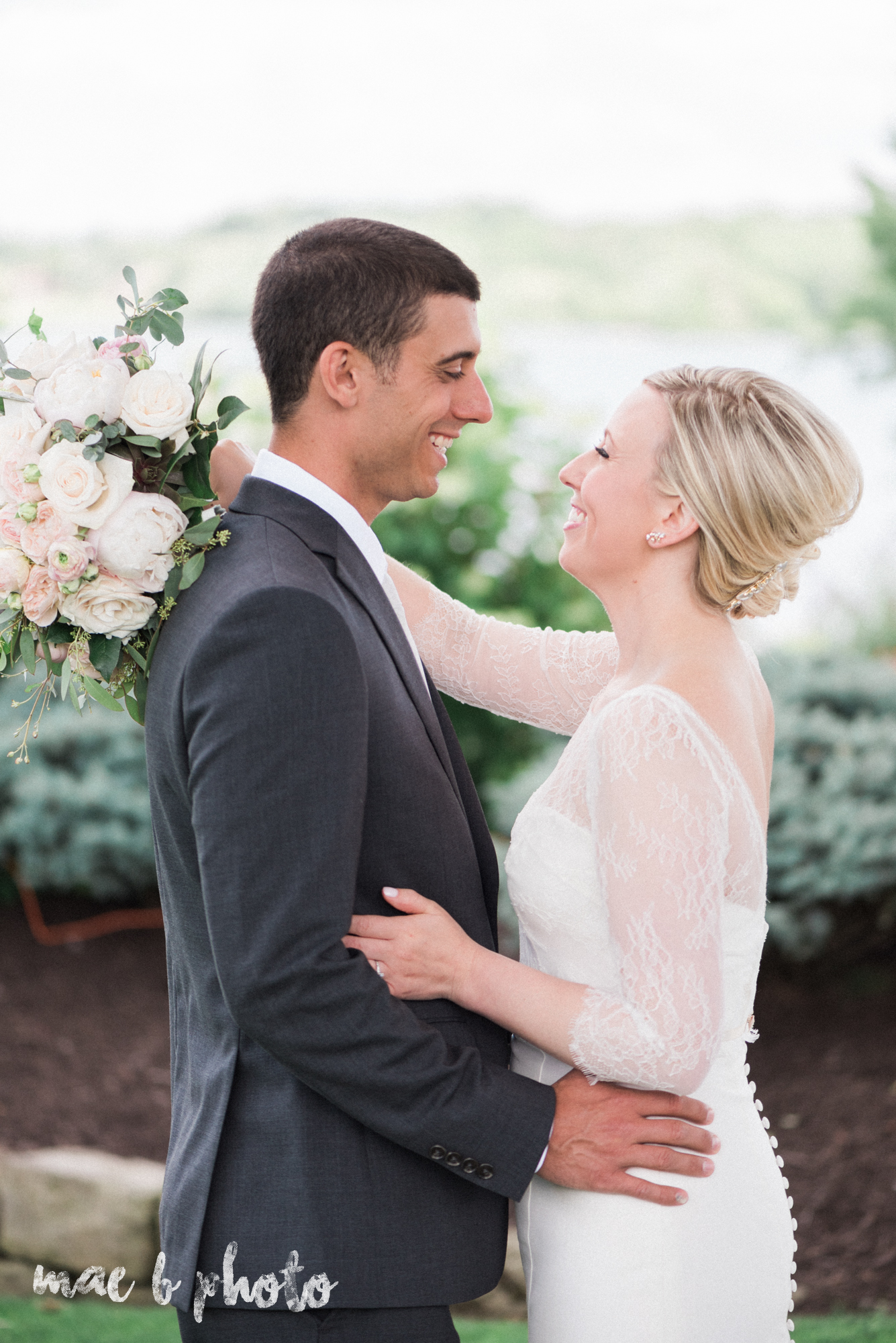 emily and michael's industrial chic summer country club wedding at the lake club in poland ohio photographed by cleveland wedding photographer mae b photo-54.jpg