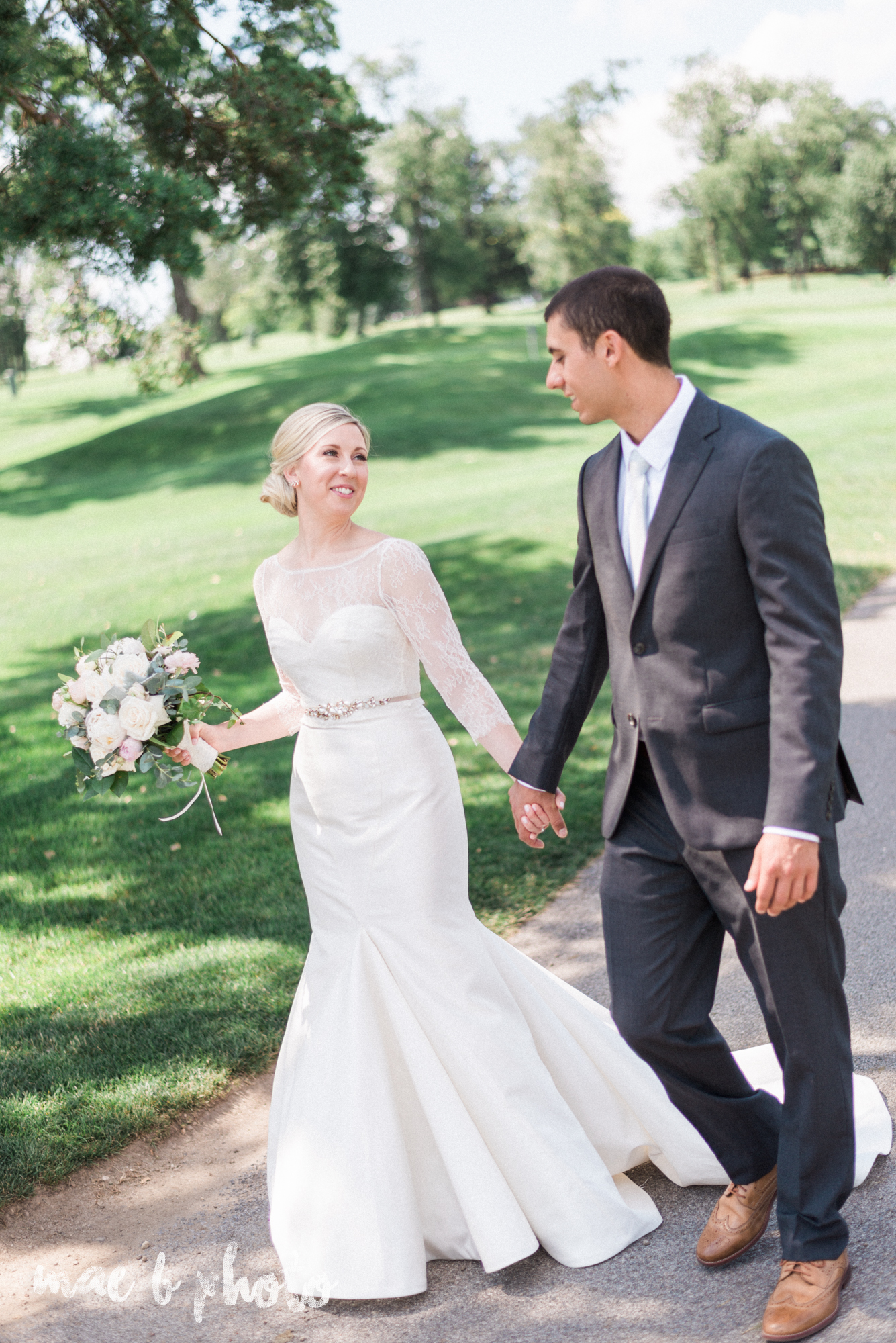 emily and michael's industrial chic summer country club wedding at the lake club in poland ohio photographed by cleveland wedding photographer mae b photo-63.jpg