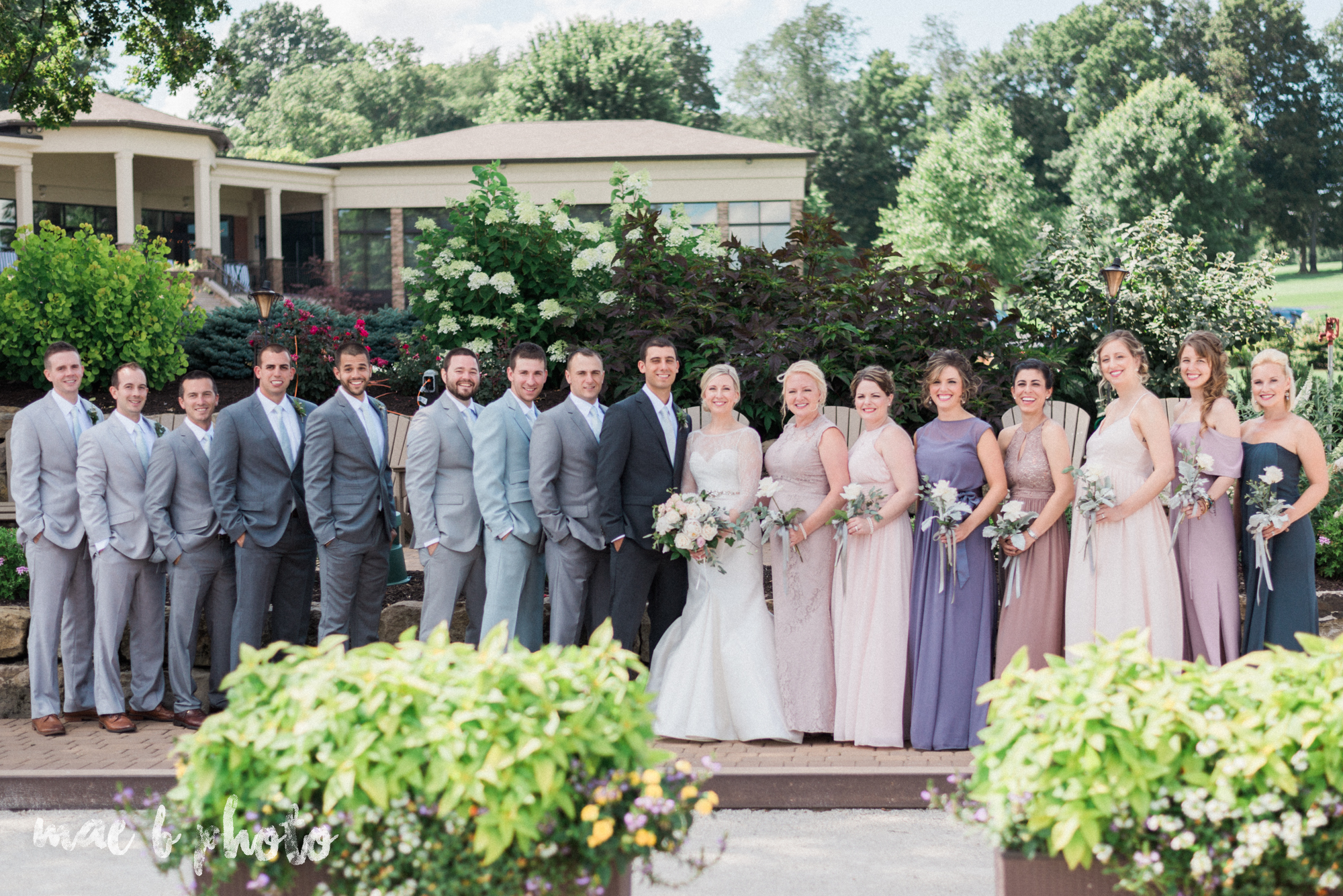 emily and michael's industrial chic summer country club wedding at the lake club in poland ohio photographed by cleveland wedding photographer mae b photo-71.jpg