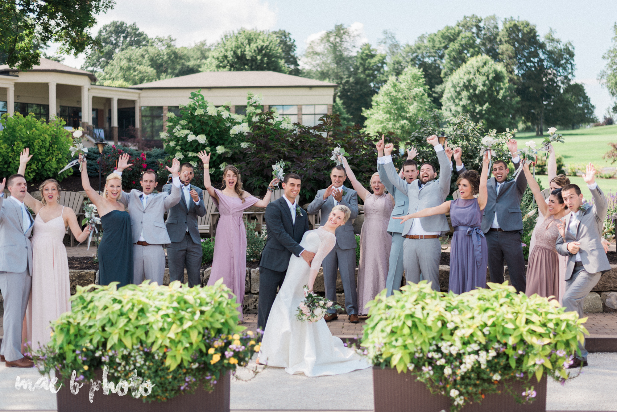 emily and michael's industrial chic summer country club wedding at the lake club in poland ohio photographed by cleveland wedding photographer mae b photo-73.jpg