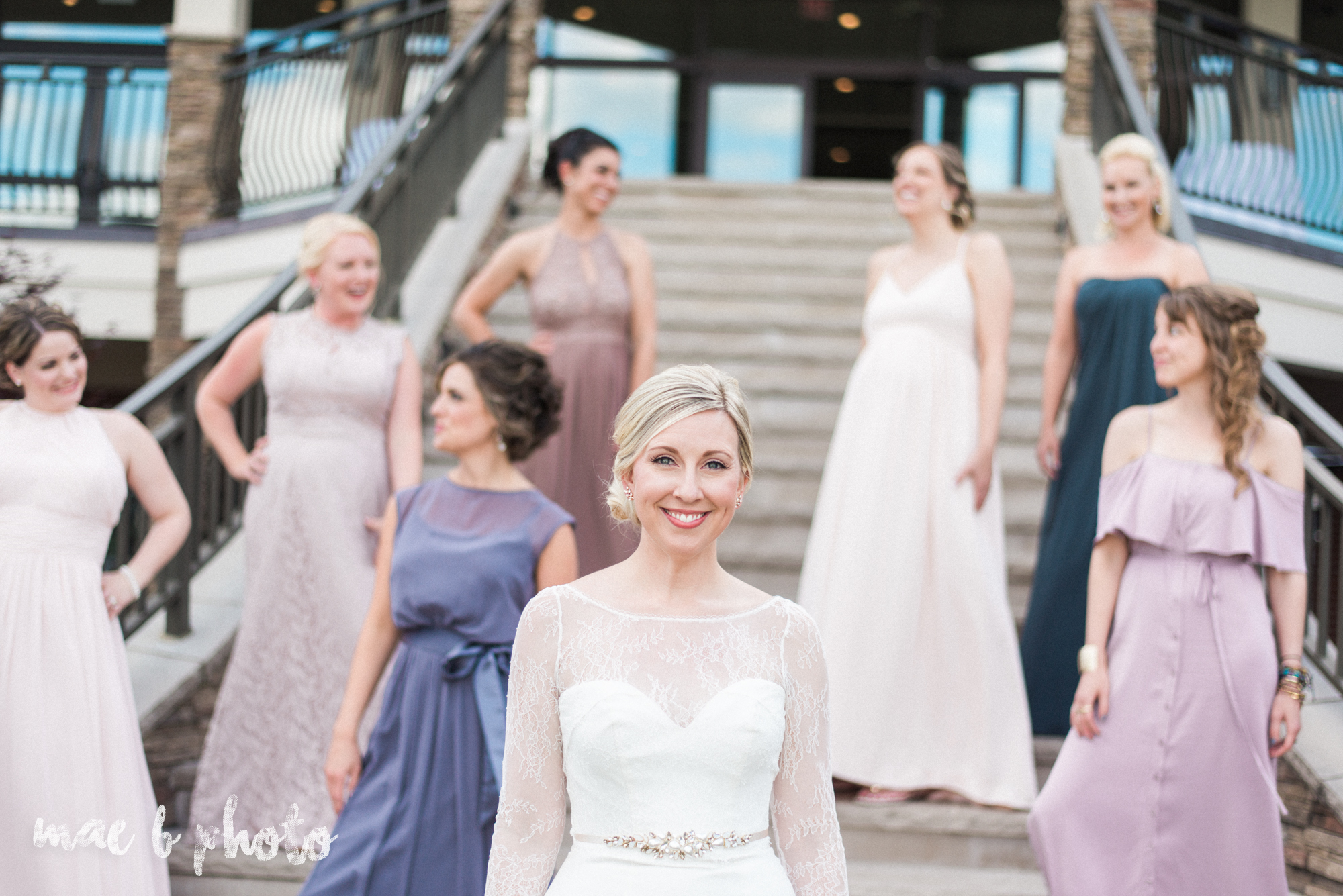 emily and michael's industrial chic summer country club wedding at the lake club in poland ohio photographed by cleveland wedding photographer mae b photo-107.jpg