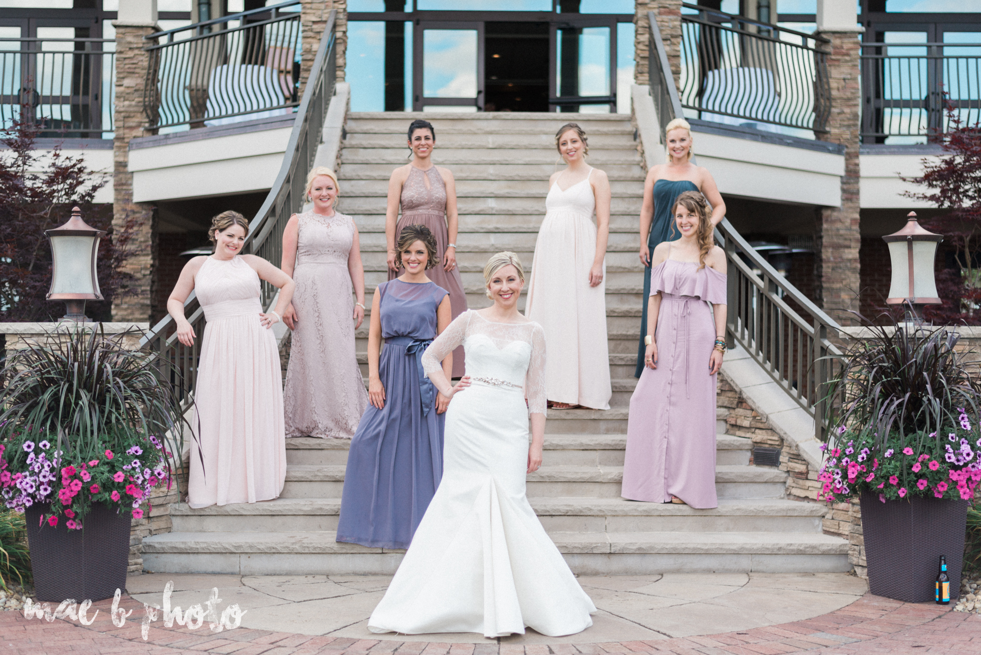 emily and michael's industrial chic summer country club wedding at the lake club in poland ohio photographed by cleveland wedding photographer mae b photo-105.jpg