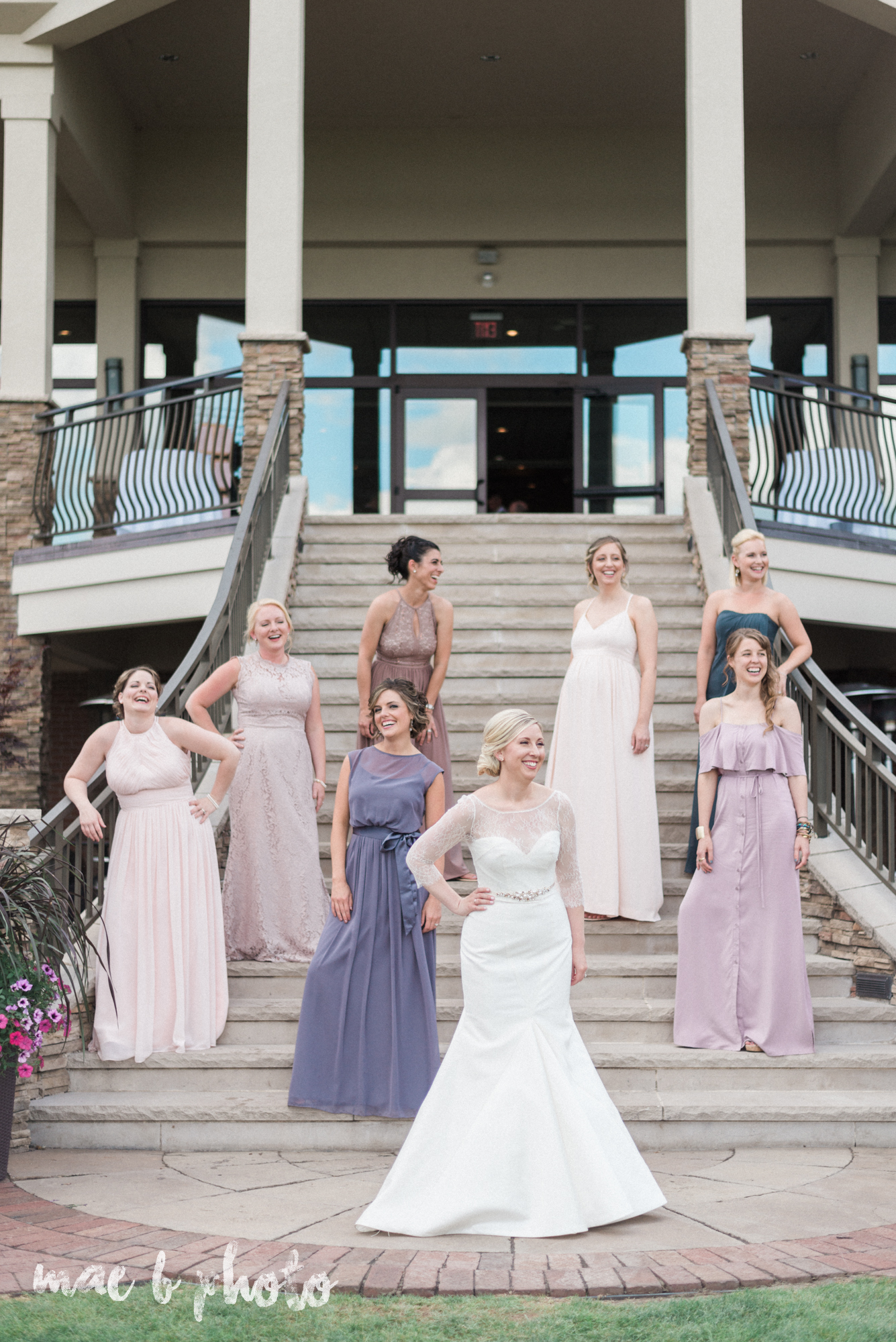 emily and michael's industrial chic summer country club wedding at the lake club in poland ohio photographed by cleveland wedding photographer mae b photo-106.jpg