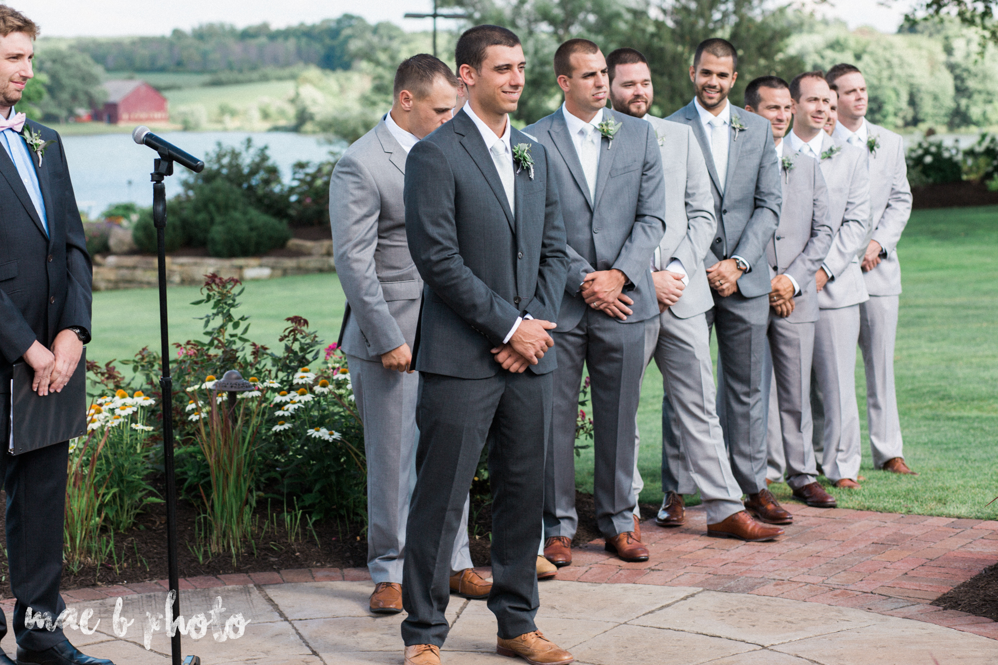 emily and michael's industrial chic summer country club wedding at the lake club in poland ohio photographed by cleveland wedding photographer mae b photo-18.jpg