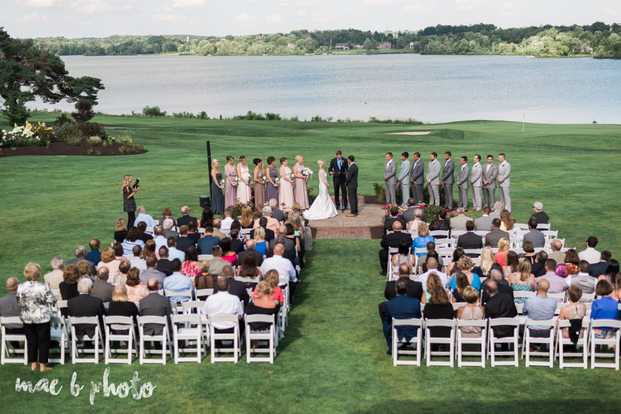 emily and michael's industrial chic summer country club wedding at the lake club in poland ohio photographed by cleveland wedding photographer mae b photo-97.jpg