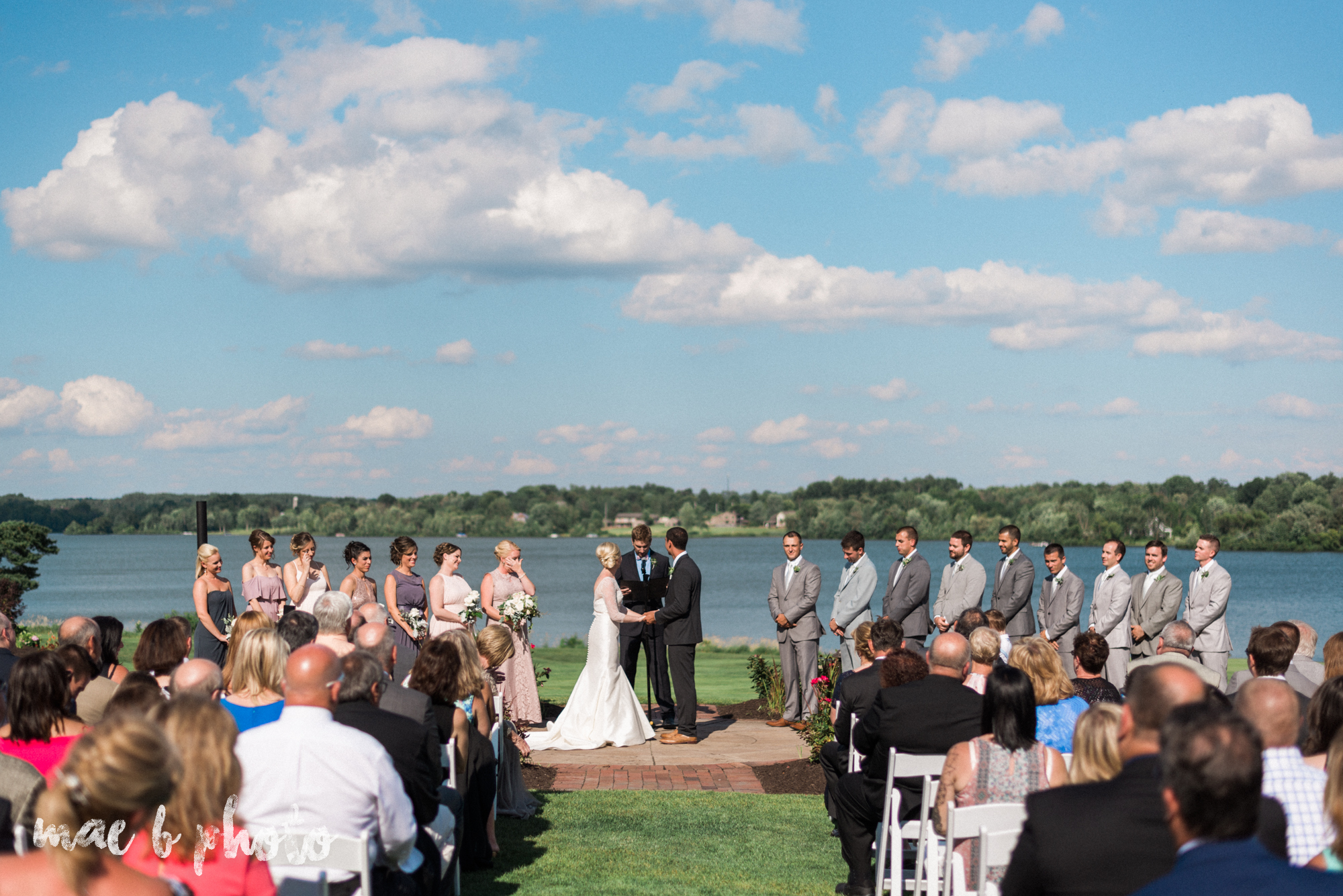 emily and michael's industrial chic summer country club wedding at the lake club in poland ohio photographed by cleveland wedding photographer mae b photo-99.jpg