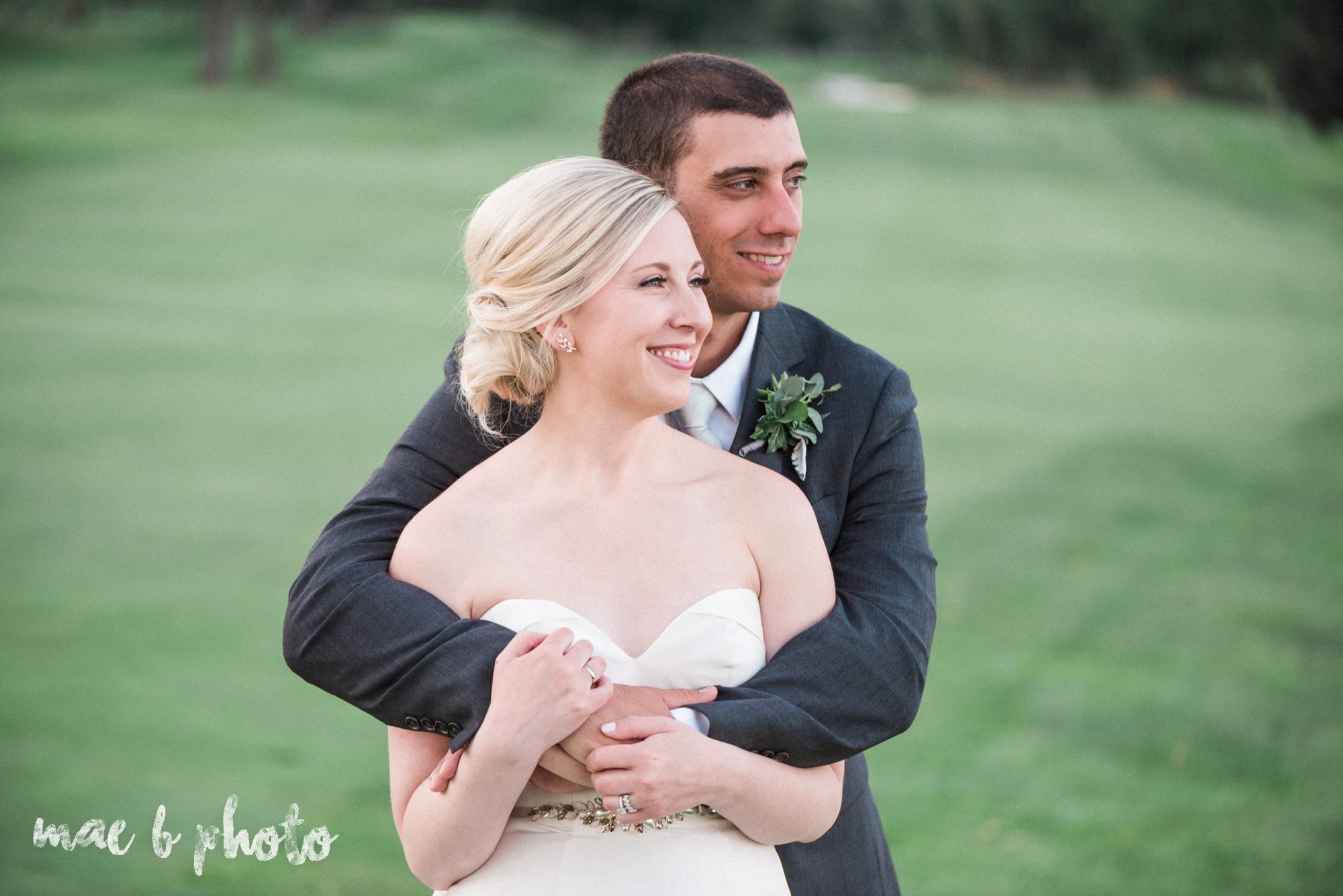 emily and michael's industrial chic summer country club wedding at the lake club in poland ohio photographed by cleveland wedding photographer mae b photo-125.jpg