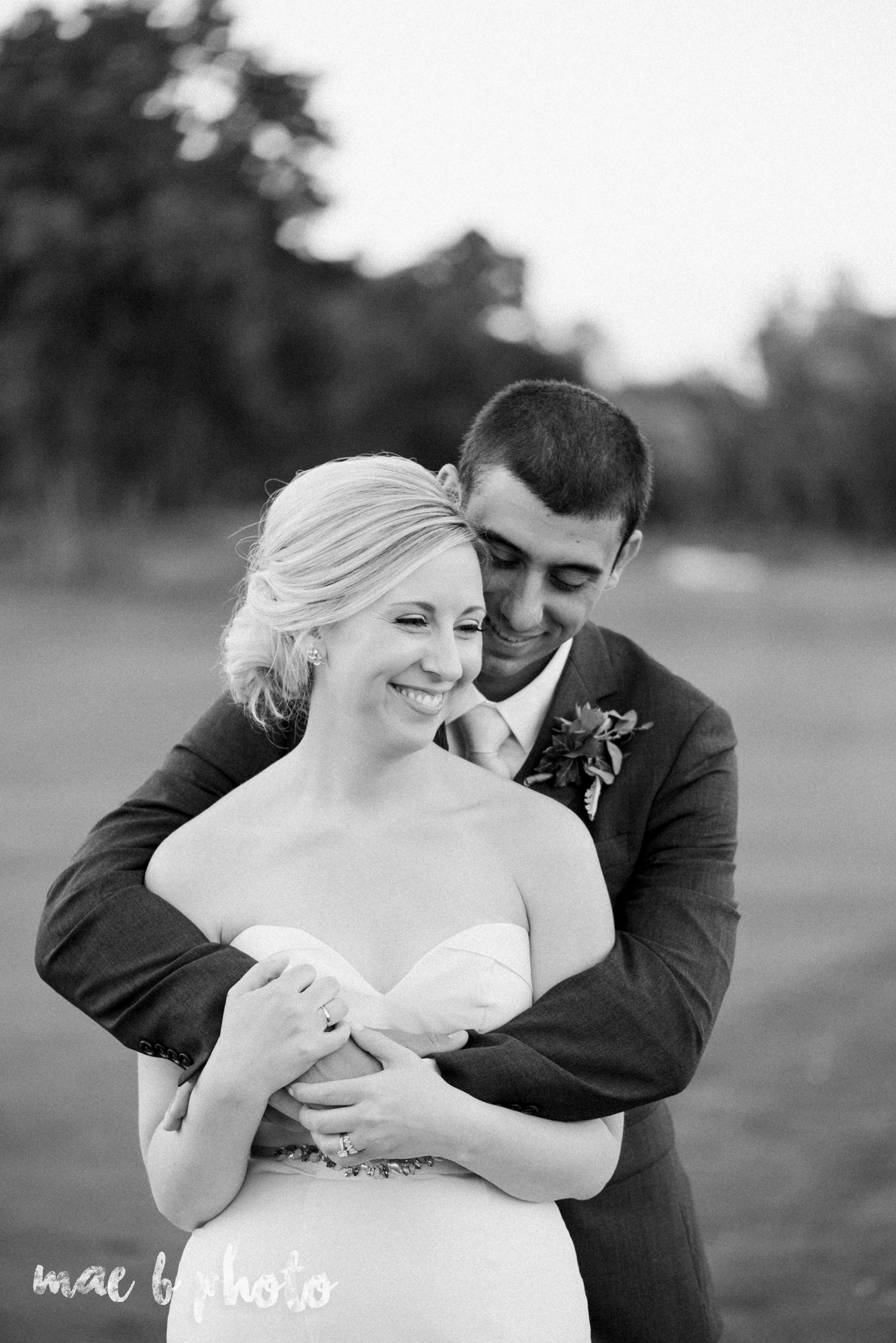 emily and michael's industrial chic summer country club wedding at the lake club in poland ohio photographed by cleveland wedding photographer mae b photo-124.jpg