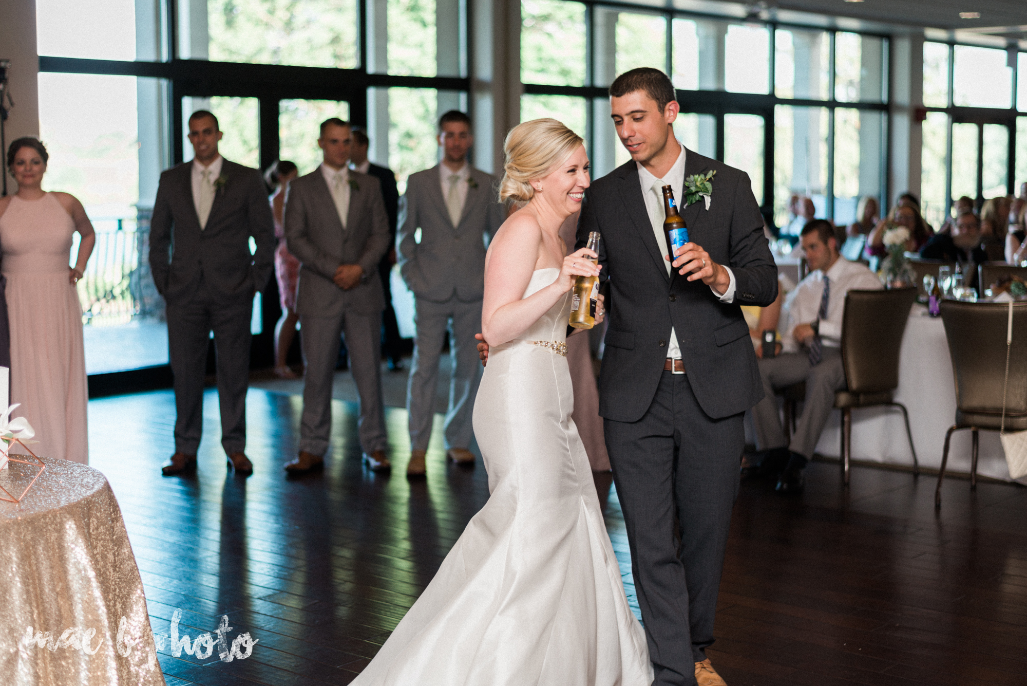emily and michael's industrial chic summer country club wedding at the lake club in poland ohio photographed by cleveland wedding photographer mae b photo-115.jpg