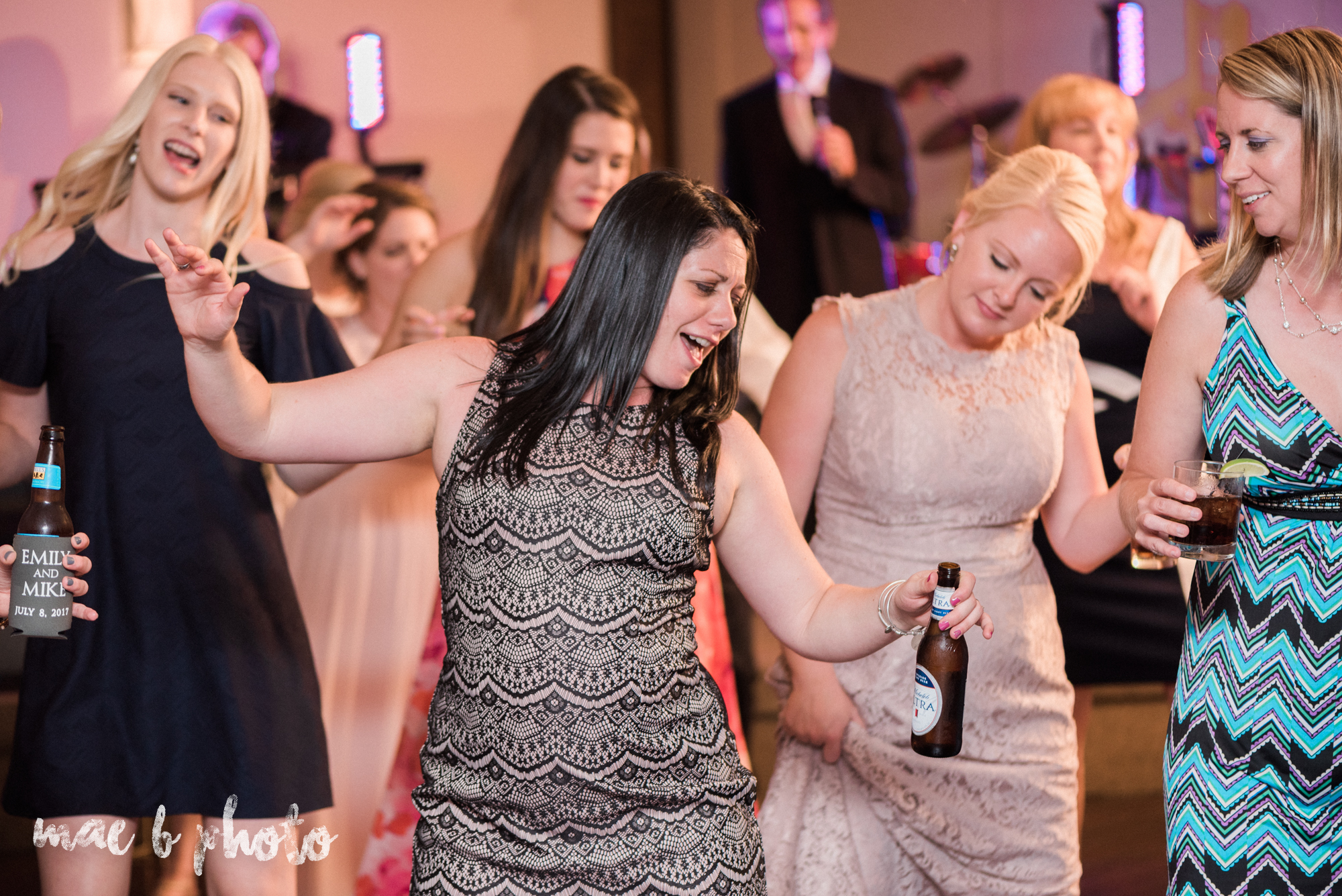 emily and michael's industrial chic summer country club wedding at the lake club in poland ohio photographed by cleveland wedding photographer mae b photo-134.jpg