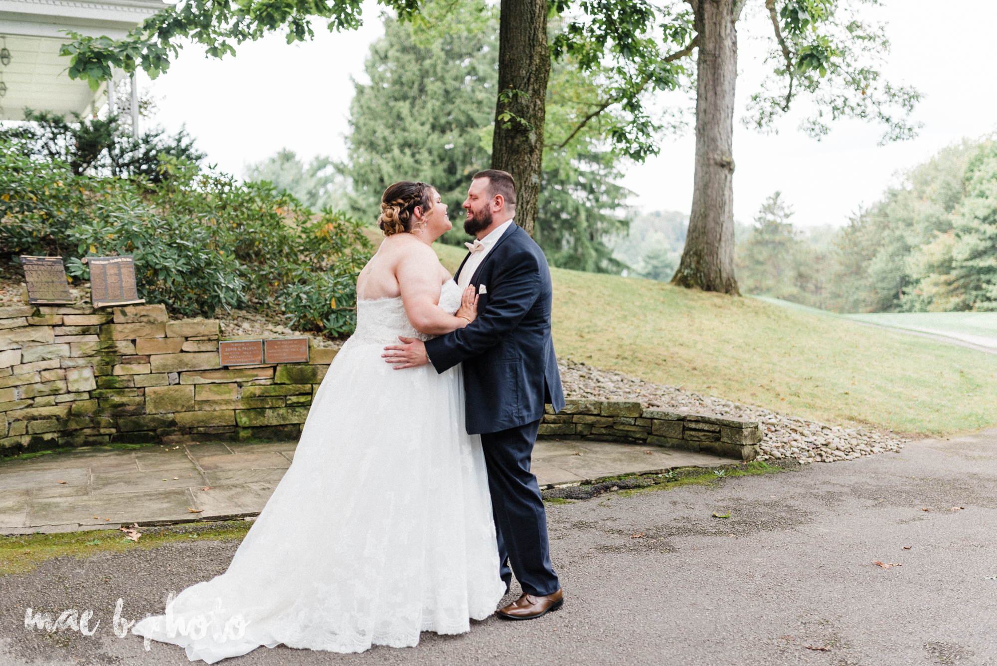 Kristina and ryan's personal vintage glam fall wedding at disalvo's station restaurant and the arnold palmer latrobe country club in latrobe, pa photographed by youngstown wedding photographer mae b photo-29.jpg
