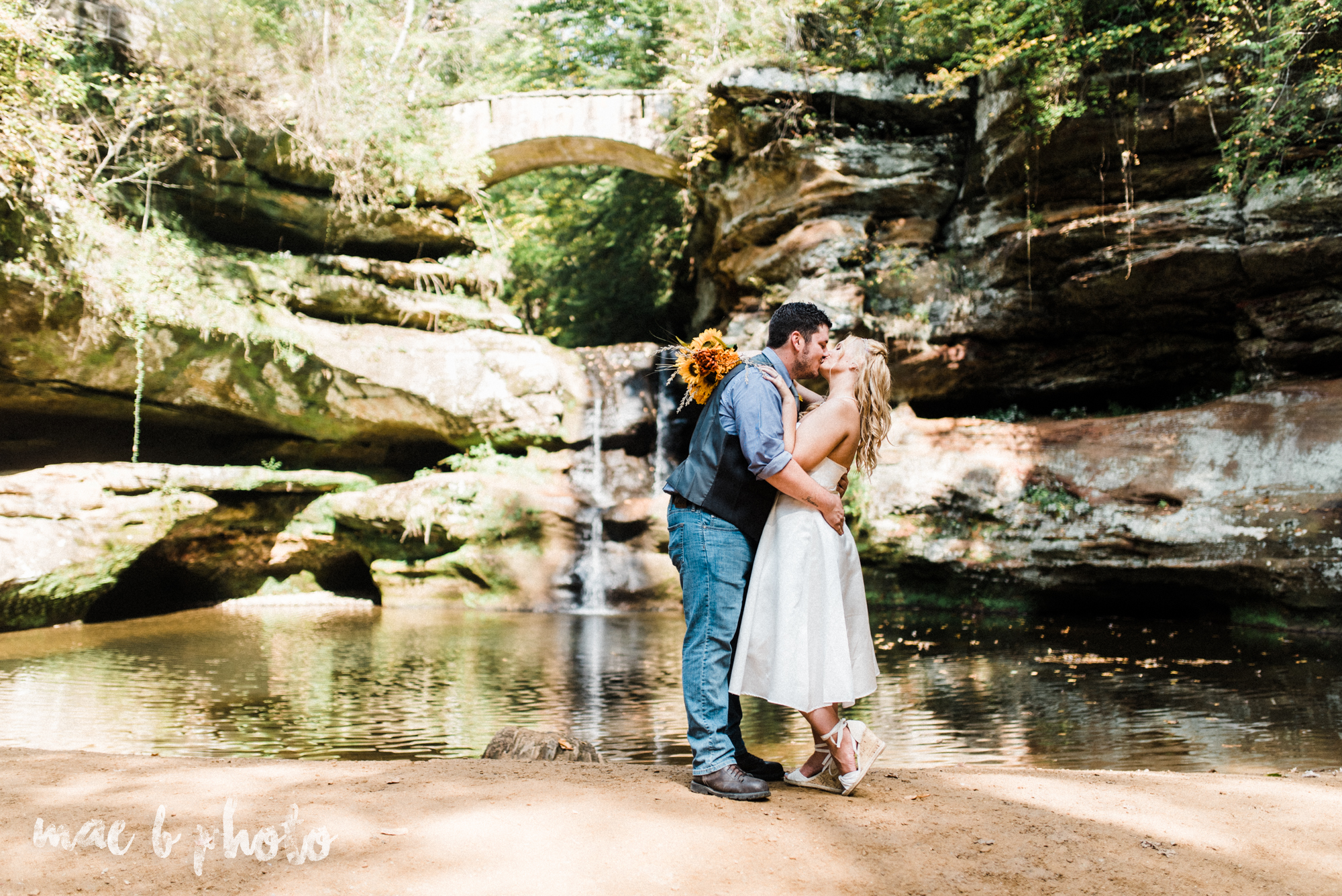 bobbi and pat's intimate fall cabin elopement in hocking hills old man's cave and rock house in logan ohio photographed by youngstown wedding photographer mae b photo-53.jpg