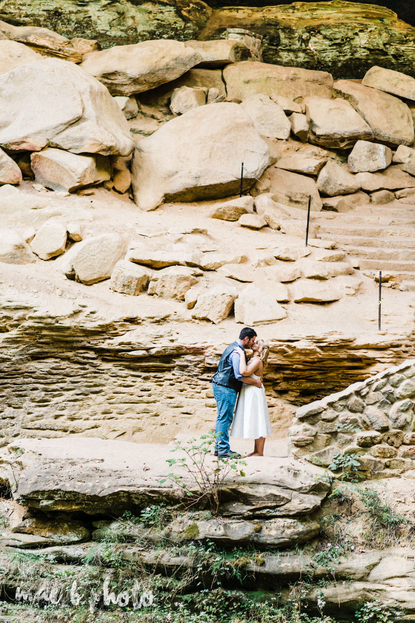 bobbi and pat's intimate fall cabin elopement in hocking hills old man's cave and rock house in logan ohio photographed by youngstown wedding photographer mae b photo-72.jpg