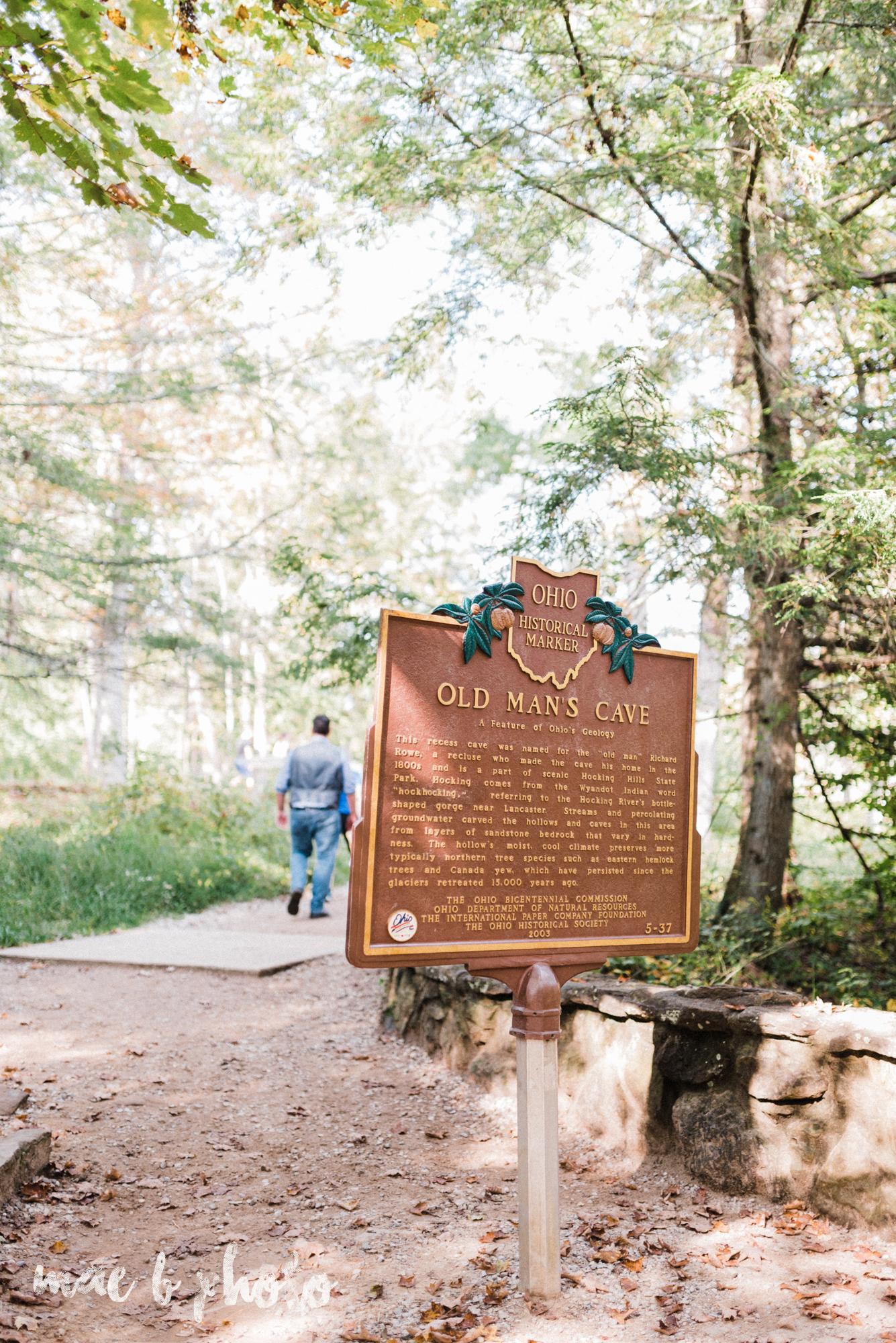 bobbi and pat's intimate fall cabin elopement in hocking hills old man's cave and rock house in logan ohio photographed by youngstown wedding photographer mae b photo-80.jpg