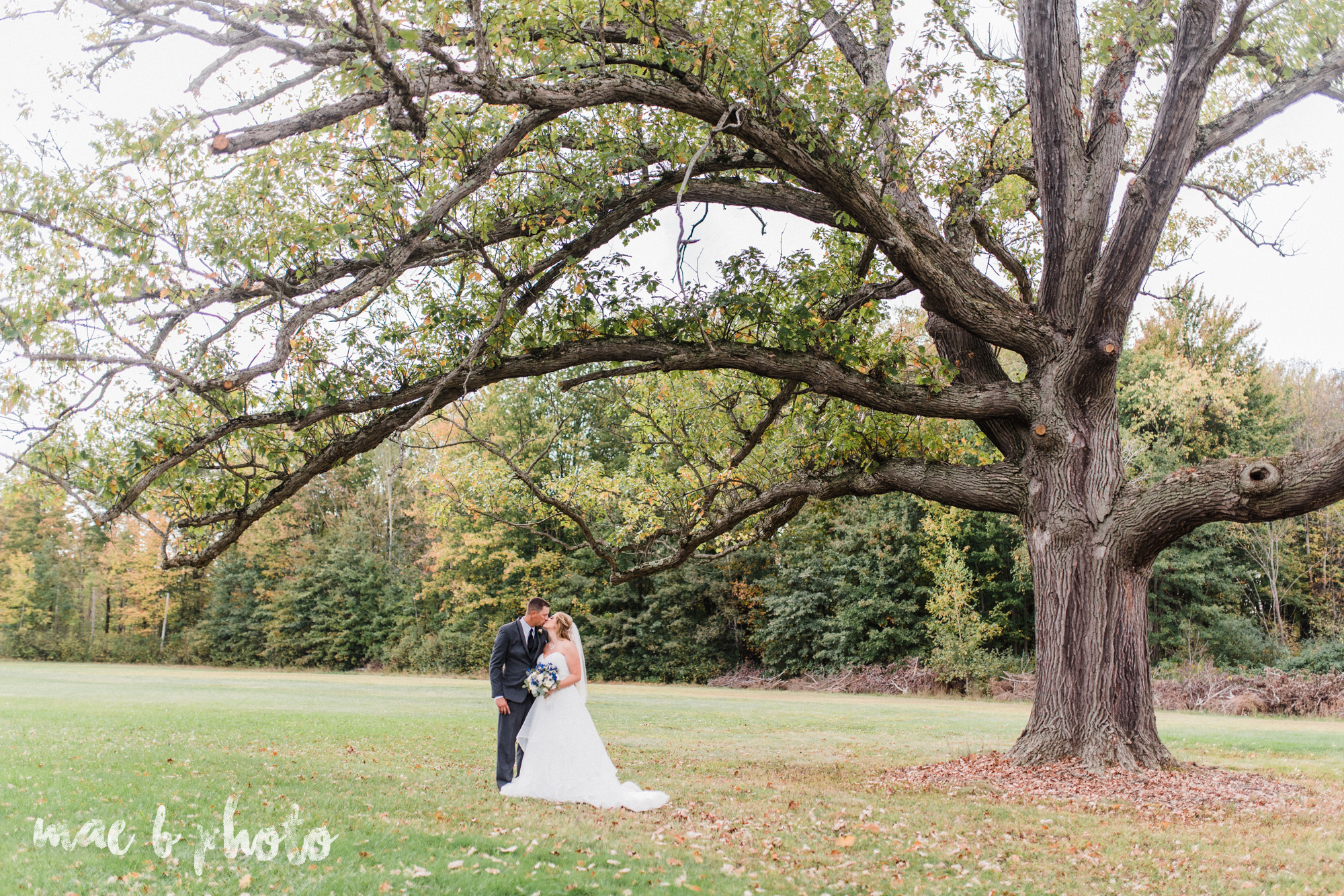 becca and rich's large, personalized fall wedding in orwell ohio and at the metroplex in girard ohio photographed by youngstown wedding photographer mae b photo-41.jpg