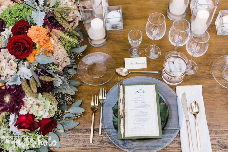 dinner under the trees by youngstown wedding photographer mae b photo.jpg