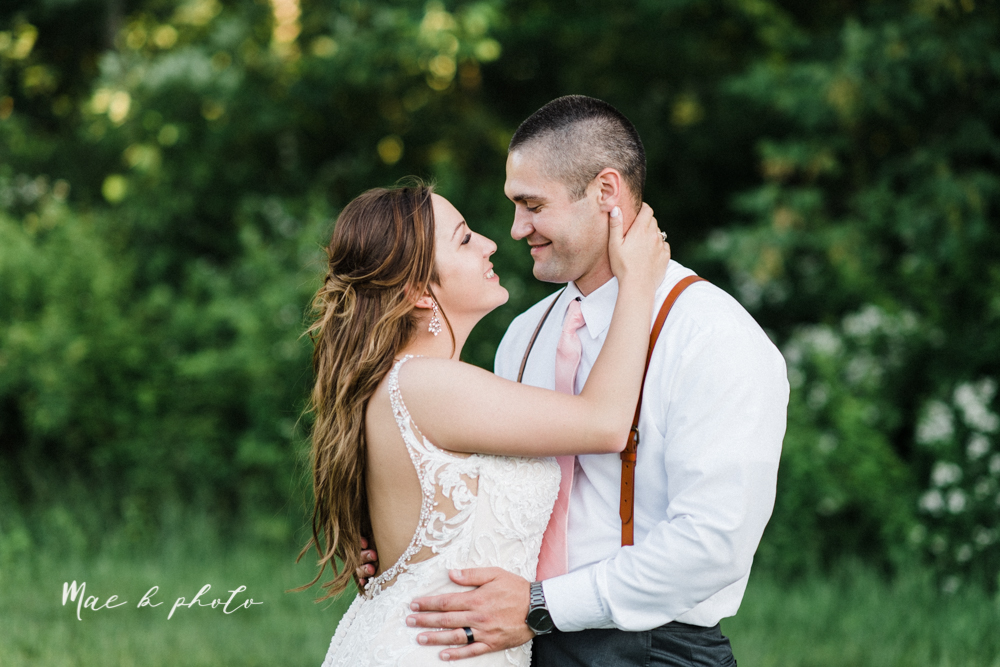 morgan and ryan's intimate outdoor summer winery midwest wedding at hartford hill winery and doubletree by hilton youngstown downtown in hartford ohio photographed by youngstown wedding photographer mae b photo-136.jpg
