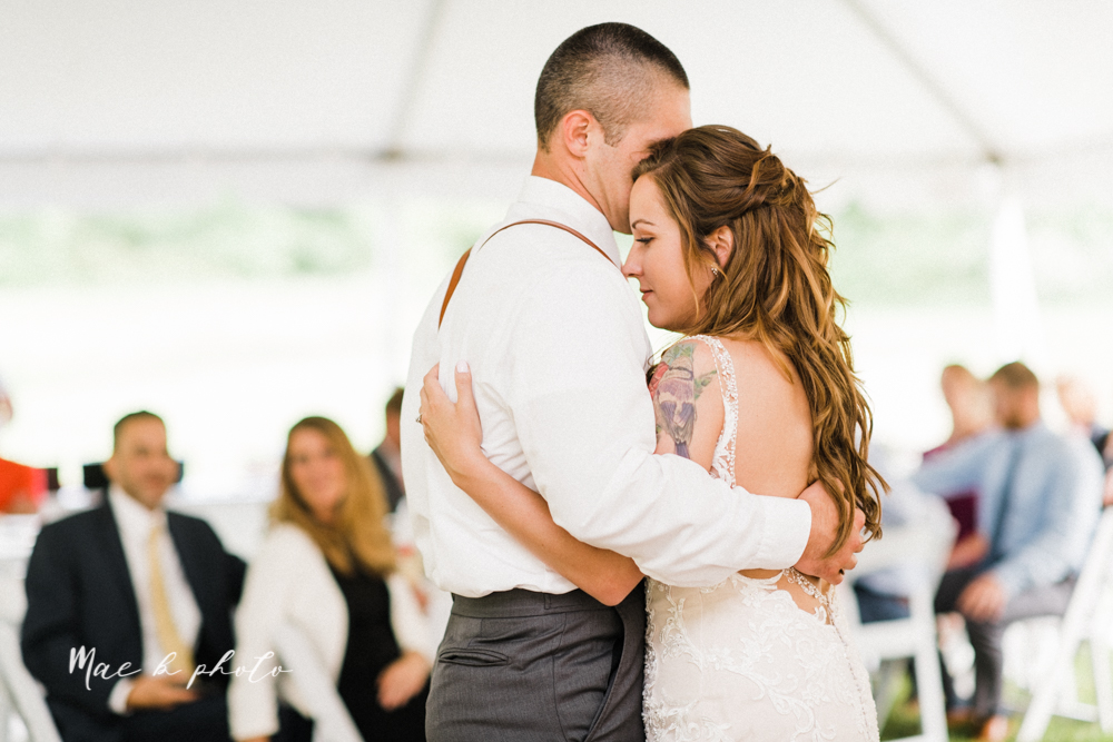morgan and ryan's intimate outdoor summer winery midwest wedding at hartford hill winery and doubletree by hilton youngstown downtown in hartford ohio photographed by youngstown wedding photographer mae b photo-100.jpg
