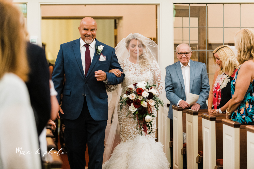 paige and cale's 1920s gatsby glam summer wedding at poland presbyterian church in poland ohio and mr anthony's banquet center in boardman ohio photographed by youngstown wedding photographer mae b photo-39.jpg